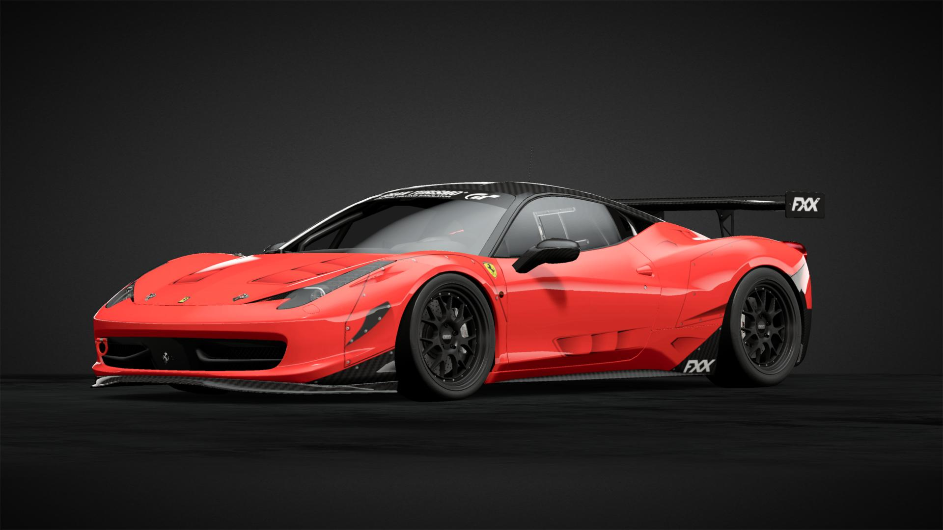 Ferrari 458 Fxx Wide Body Kit Car Livery By Xcolomb1anx
