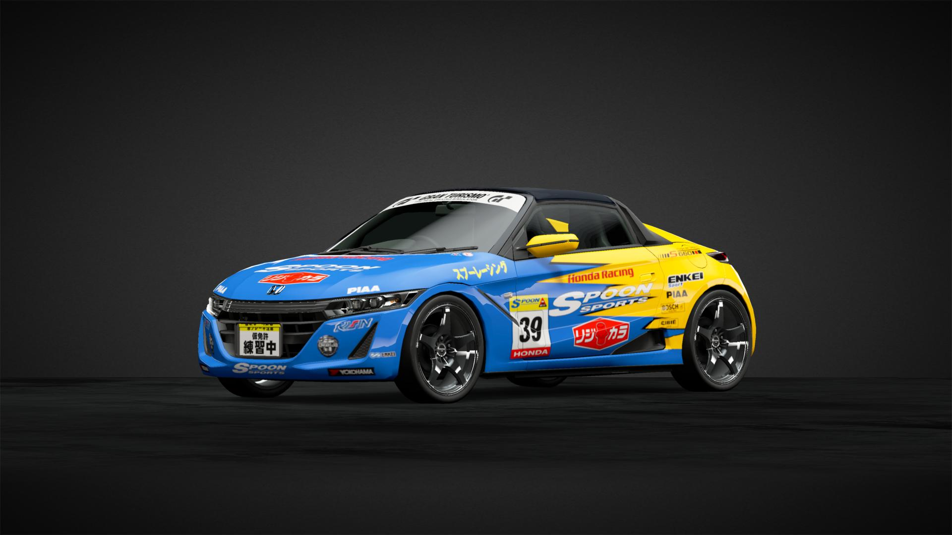 Honda S660 Spoon Racing Car Livery By Gutierrez 36 Community