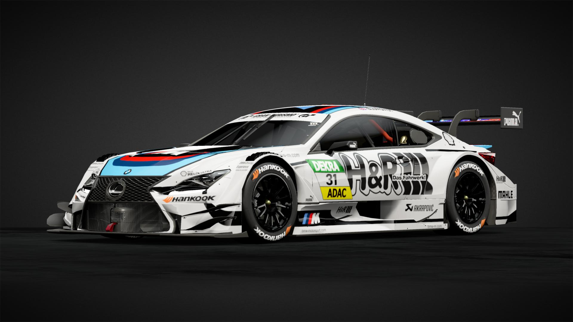 Bmw team rmr #31 bmw m4 dtm car livery by fte82 community gran