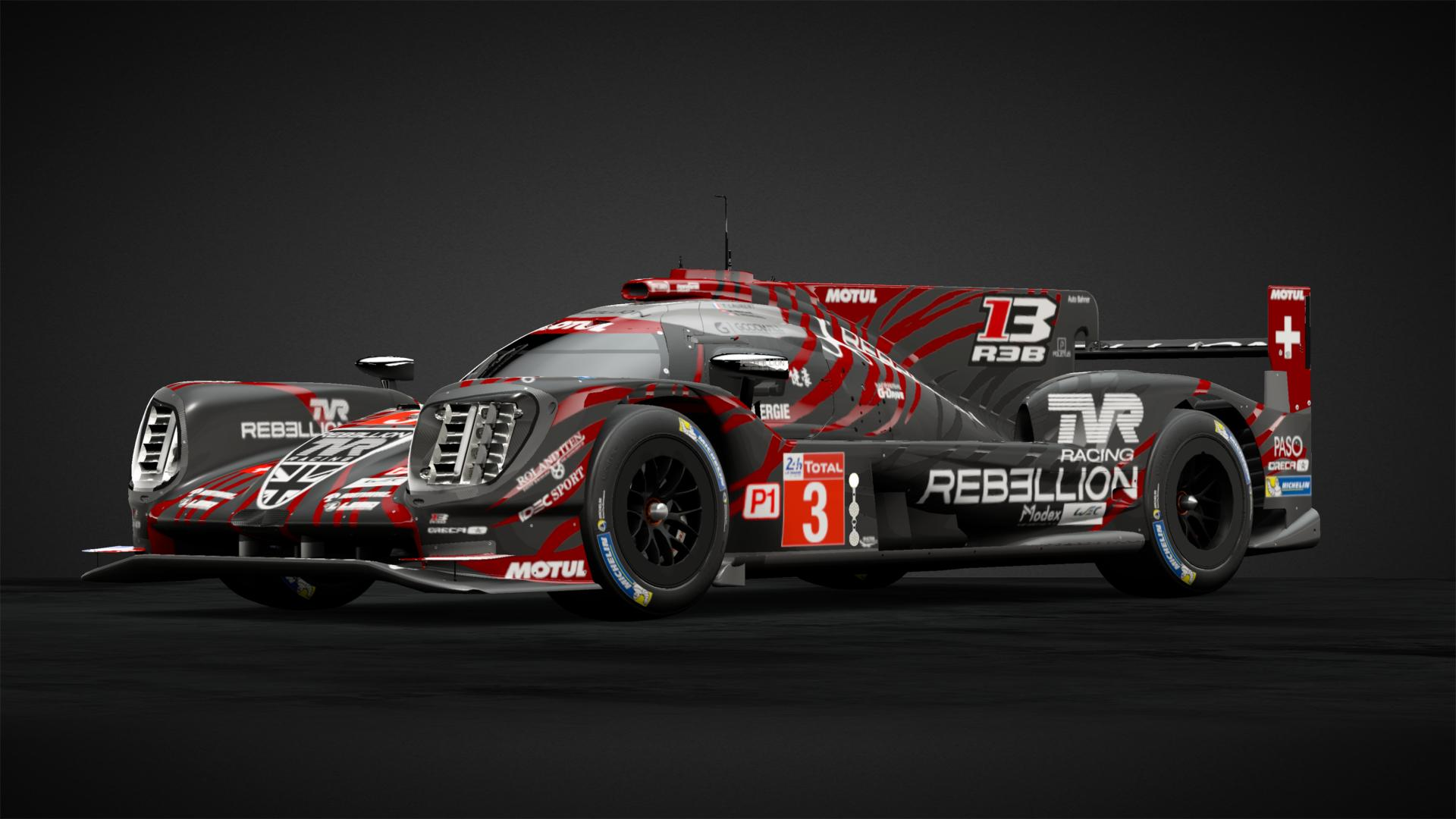 3 Rebellion Racing 2018lemans Car Livery By Brazell42 Community Gran Turismo Sport