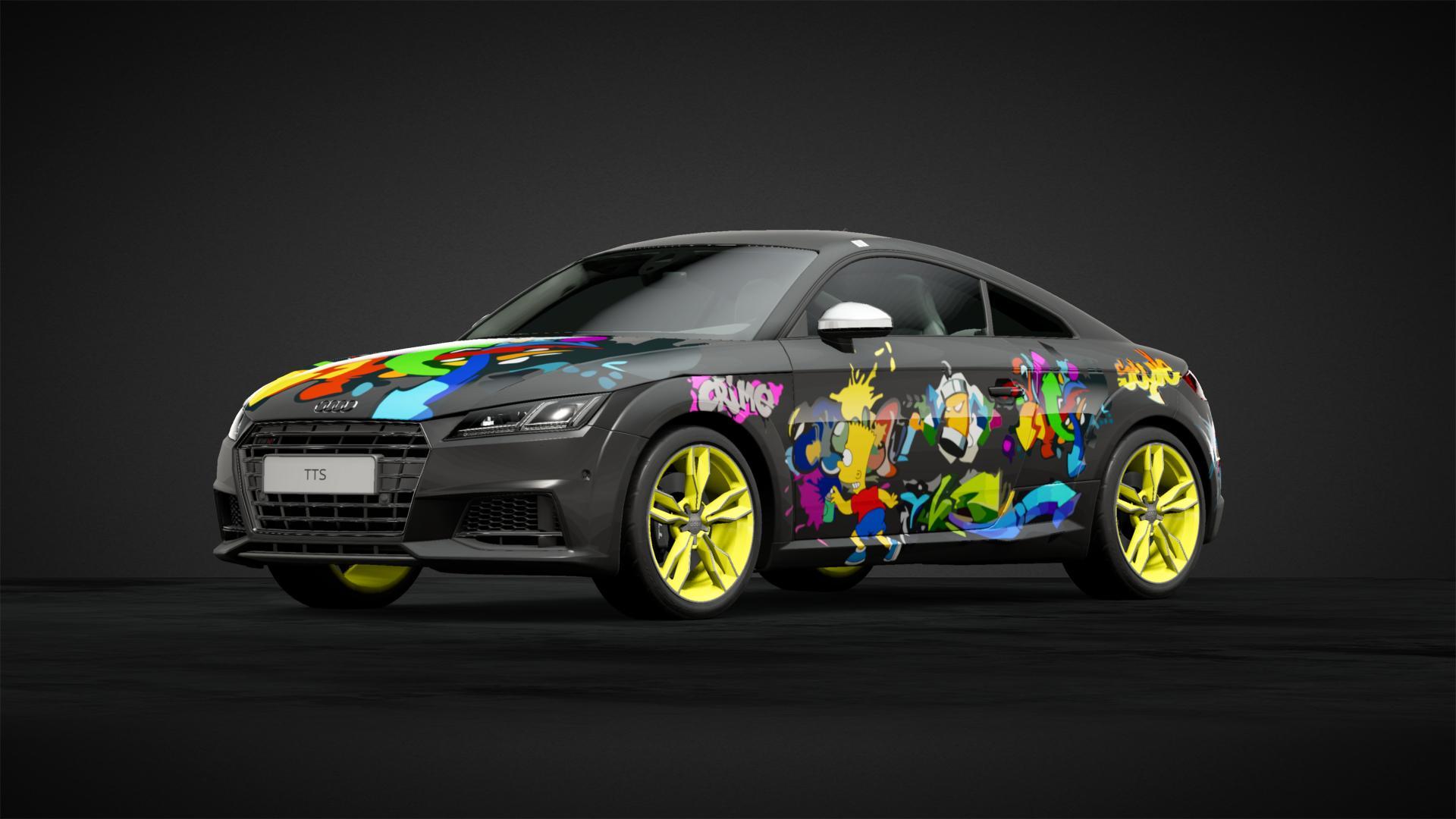 Bart graffiti - Car Livery by DoctorBrisket | Community