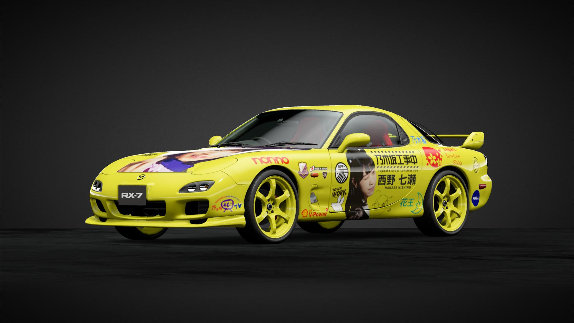 Nishino Nanase@Nogizaka46 - Car Livery by HintsTwista
