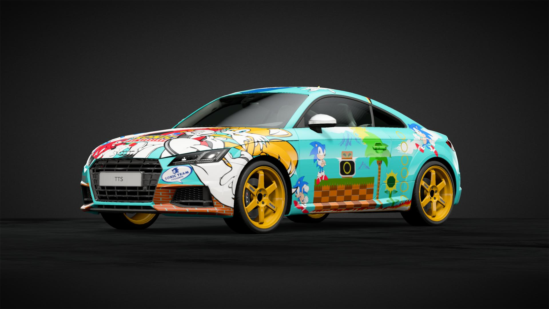 Sonic The Hedgehog Car Livery By Leeisalive Community Gran Turismo Sport
