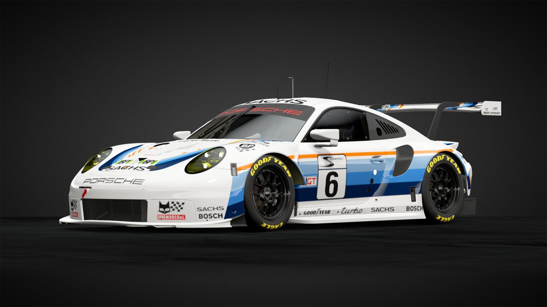 SACHS Porsche RSR Replica Car Livery by xCOLOMB1ANx