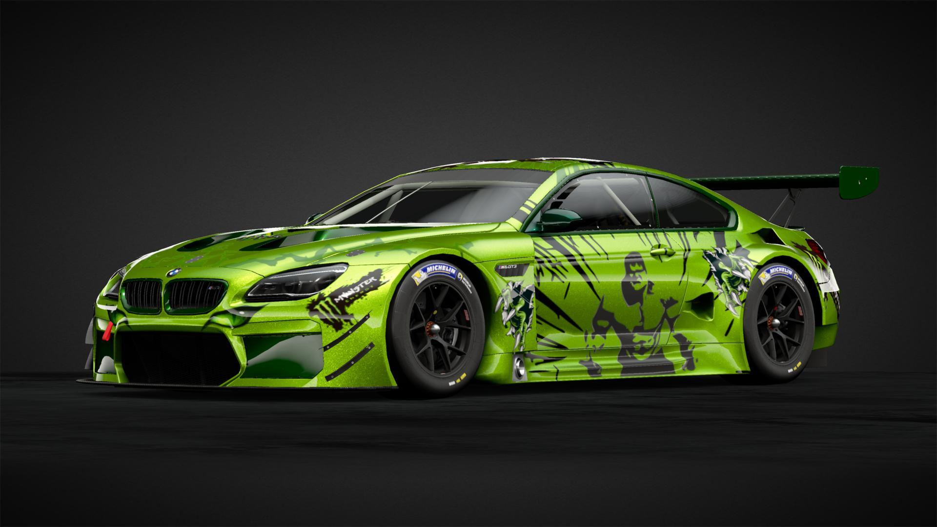 Hulk Monster Energy Apariencias De Autos De Redtorch89