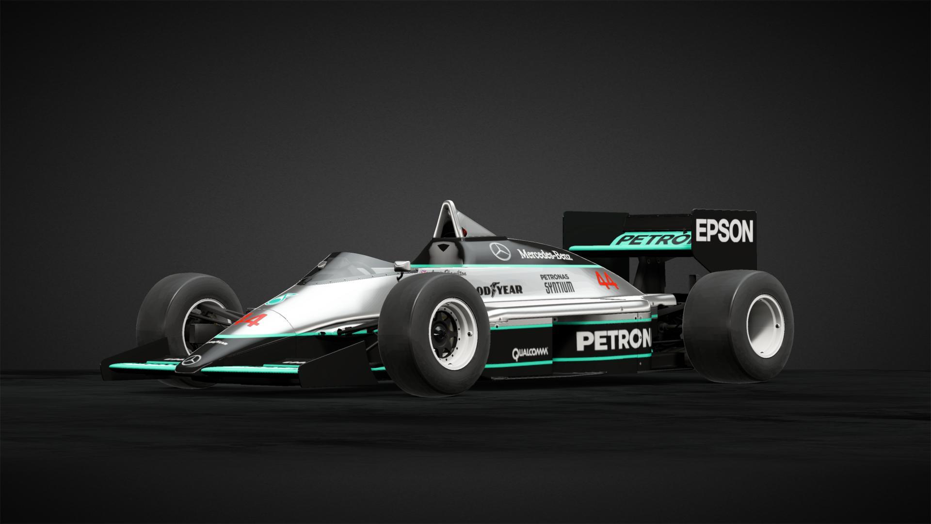 Lewis Hamilton 1986 Car Livery by JC munity