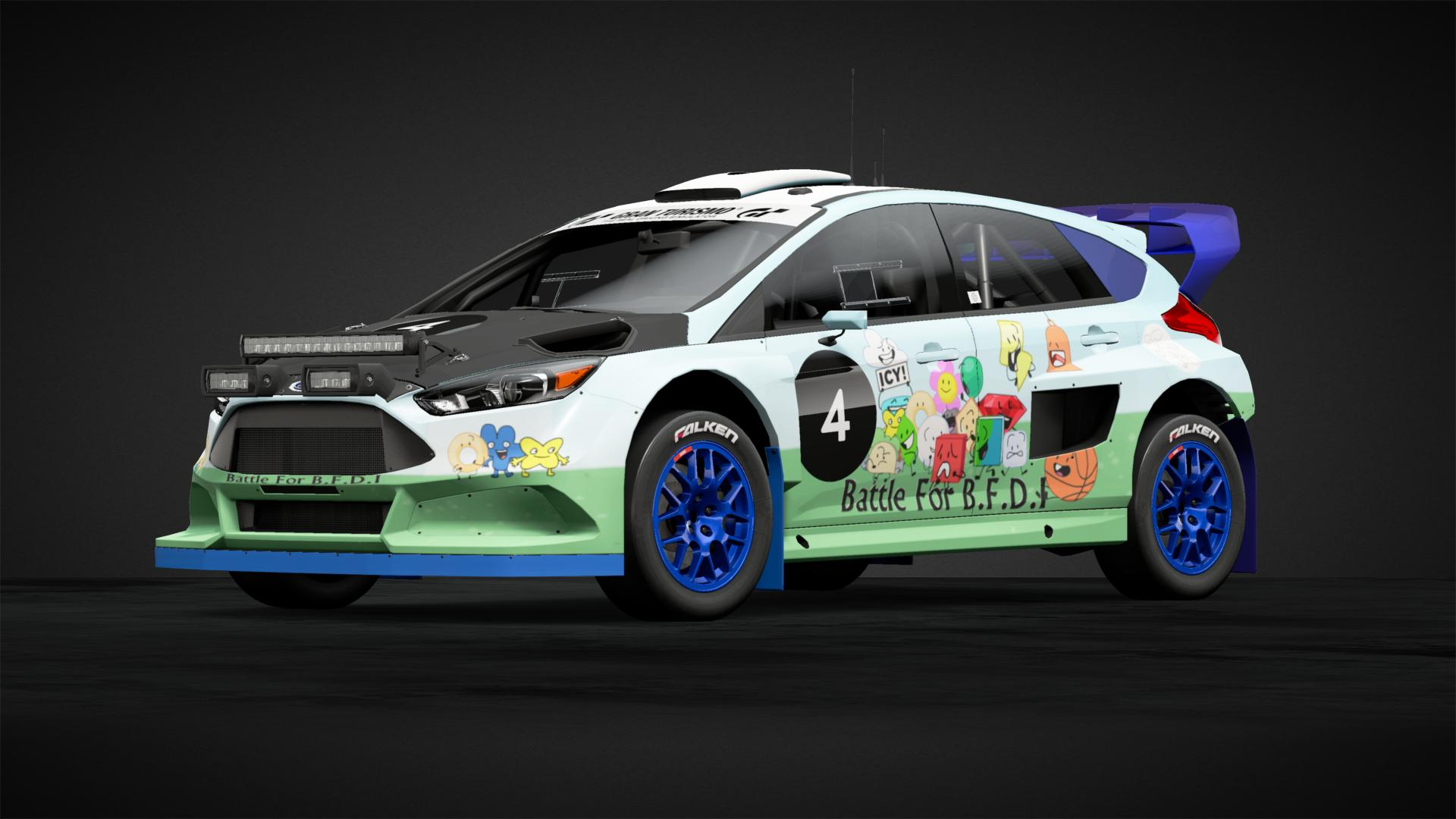 Battle for BFDI - Car Livery by BlueyYouTube | Community | Gran