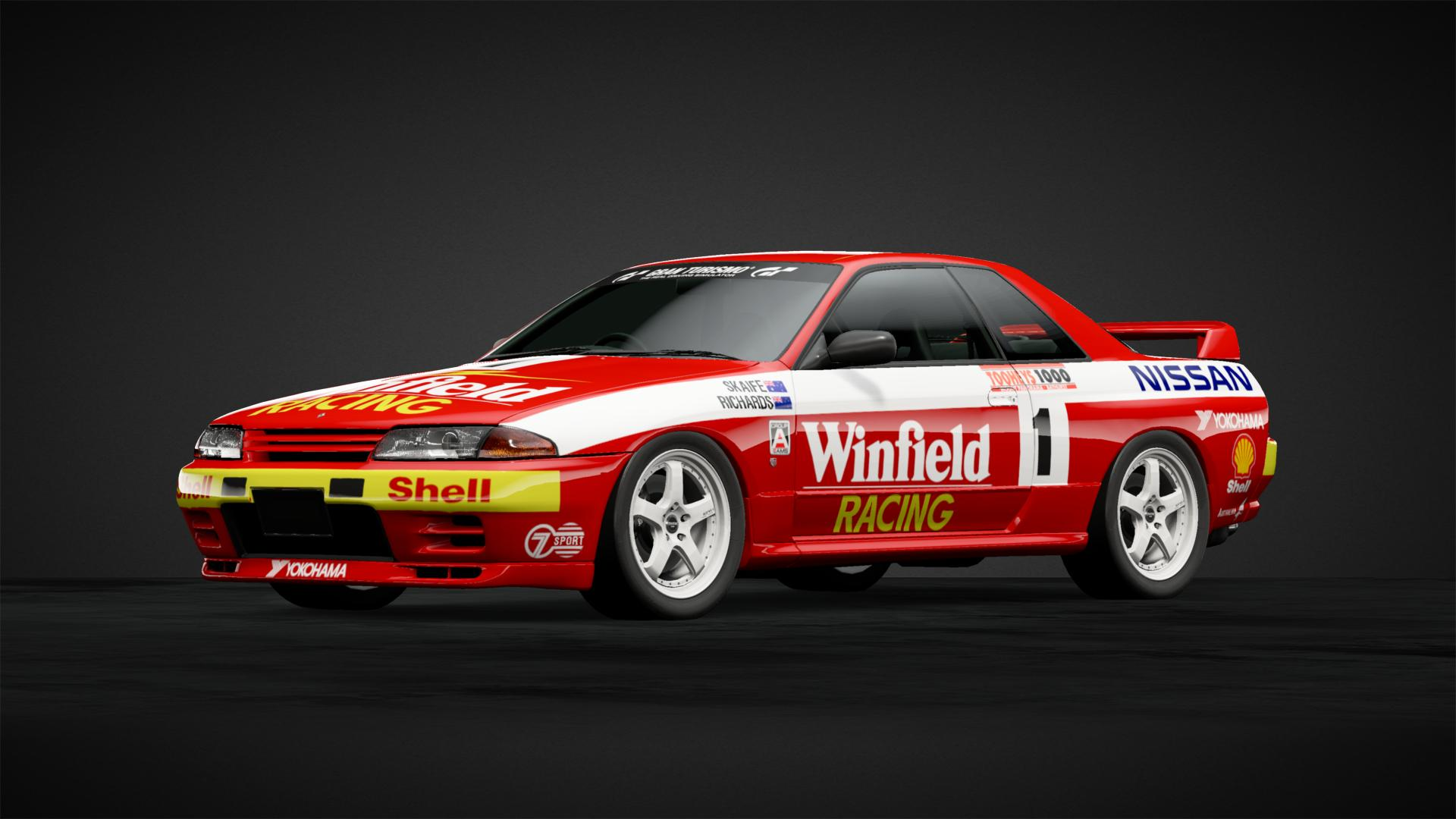 Winfield racing nissan r32 gtr car livery by sodes11 community gran turismo sport