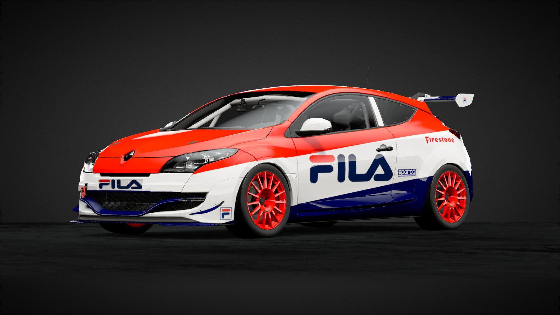 Renault Sport Megane Fila