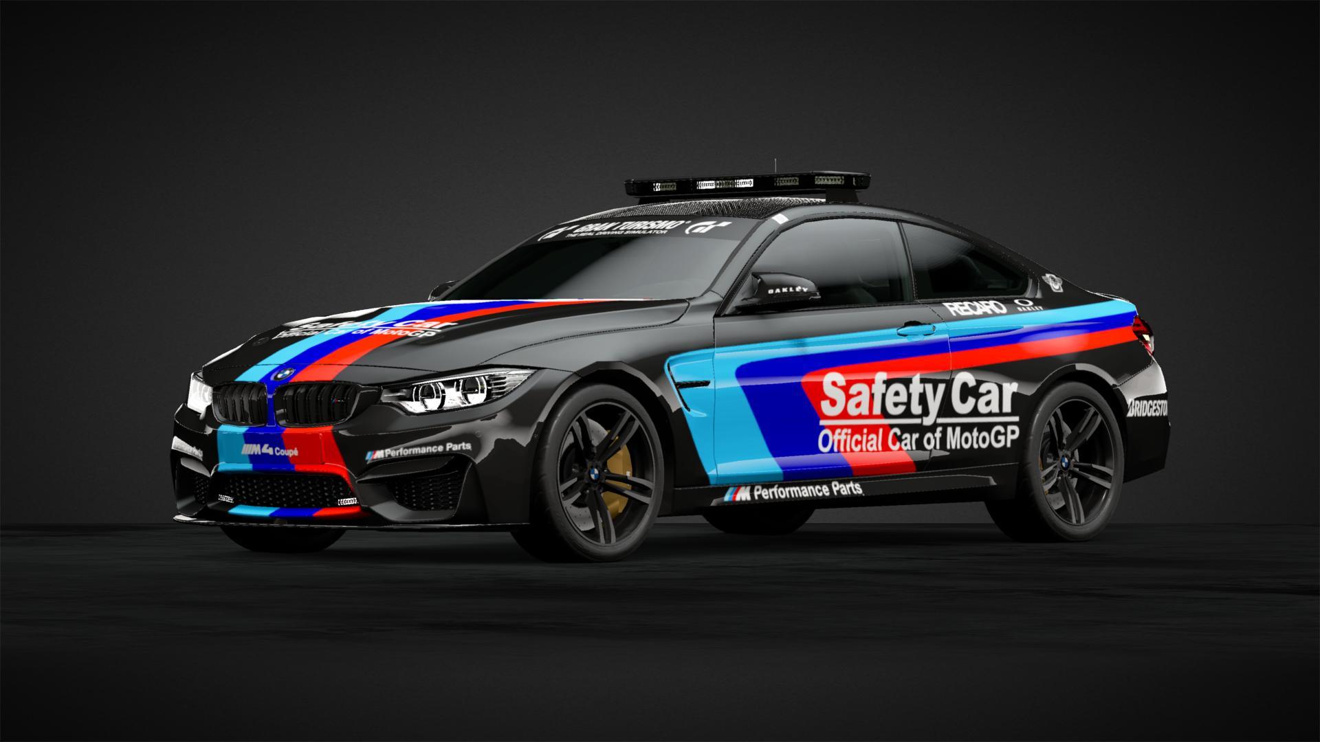 Bmw M4 Motogp Safety Car Car Livery By Zockerking Gold Community Gran Turismo Sport