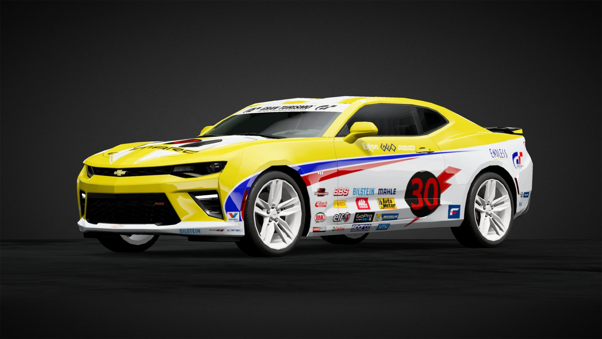 Camaro 30th Anniversary RM (GT1) - Car Livery by RIP_Bust