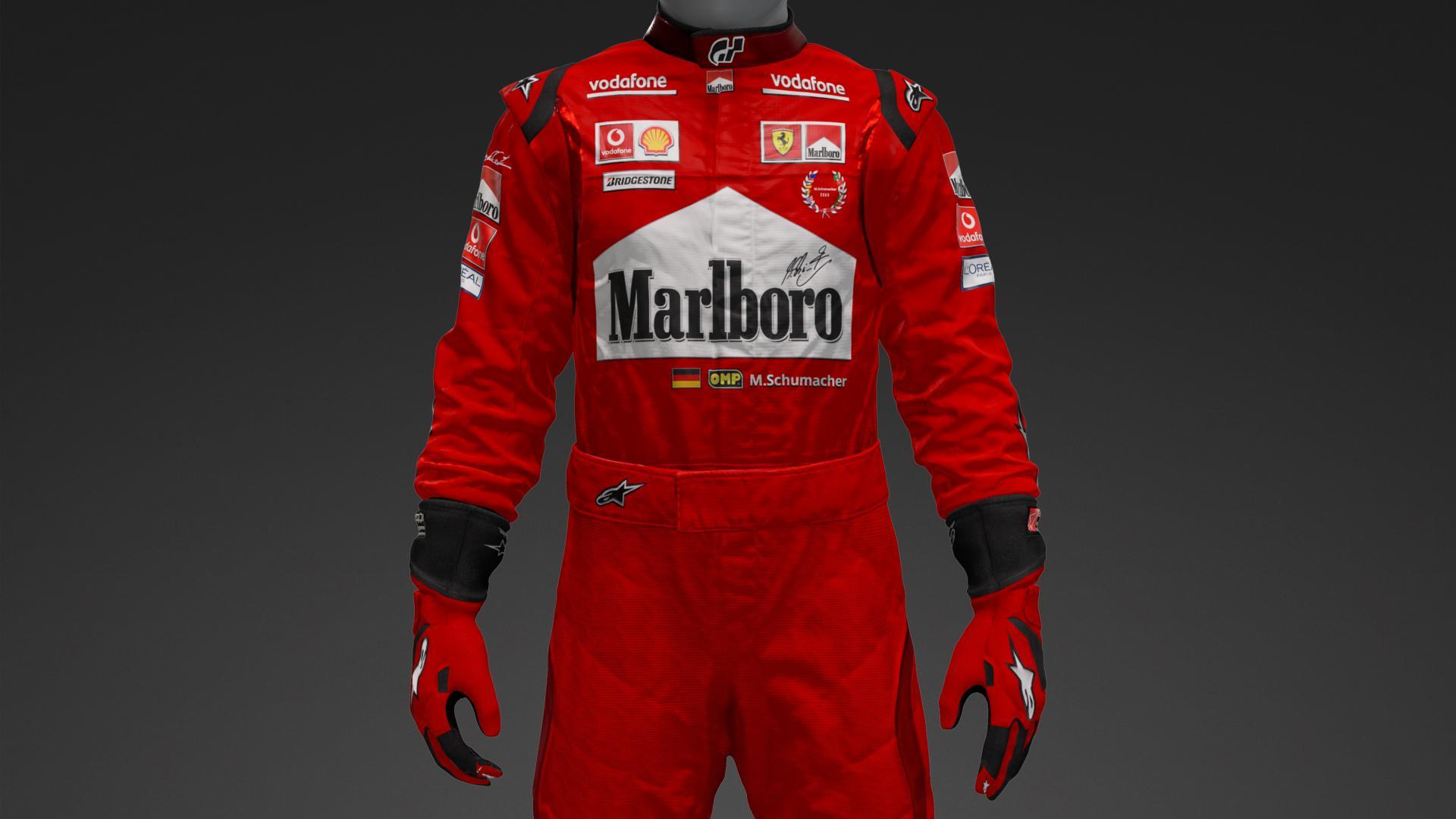 pregevole fattura scarpe da corsa gamma molto ambita di Michael Schumacher 2004 - Suit Livery by Brunelle1 | Community ...