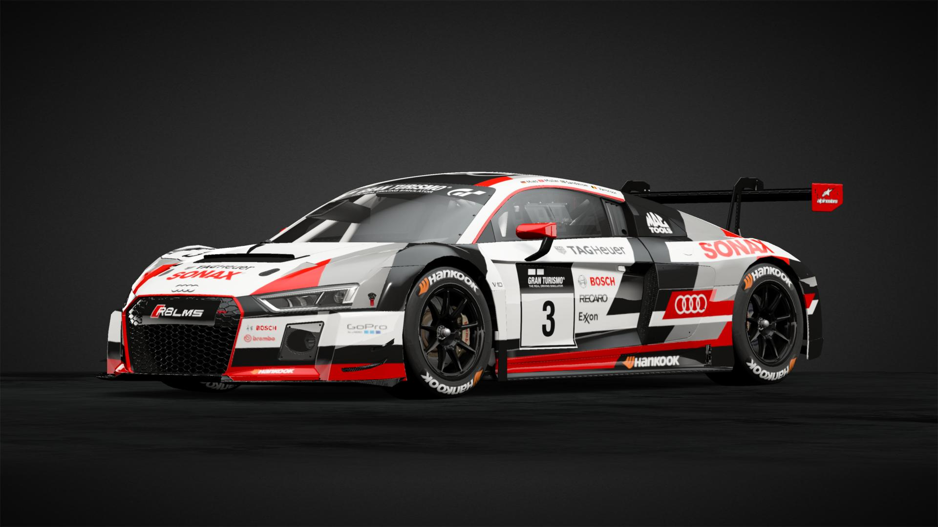 Retro Audi Sport R8 Gt3 Car Livery By Lghi8 Community Gran