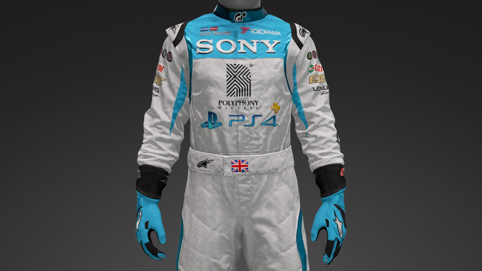 Sony Lexus Racing Suit Livery By Atheistsw Community Gran Caseque Iron Man Circuit Back Shell Case Cover For Xperia Z1 Turismo Sport
