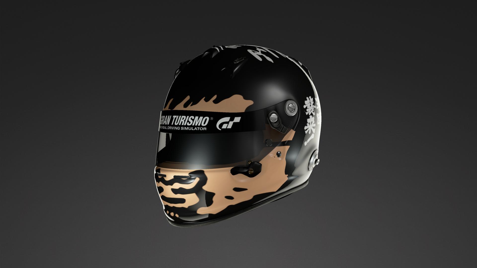 水曜どうでしょう Helmet Livery By Atsu Fd2 Community Gran