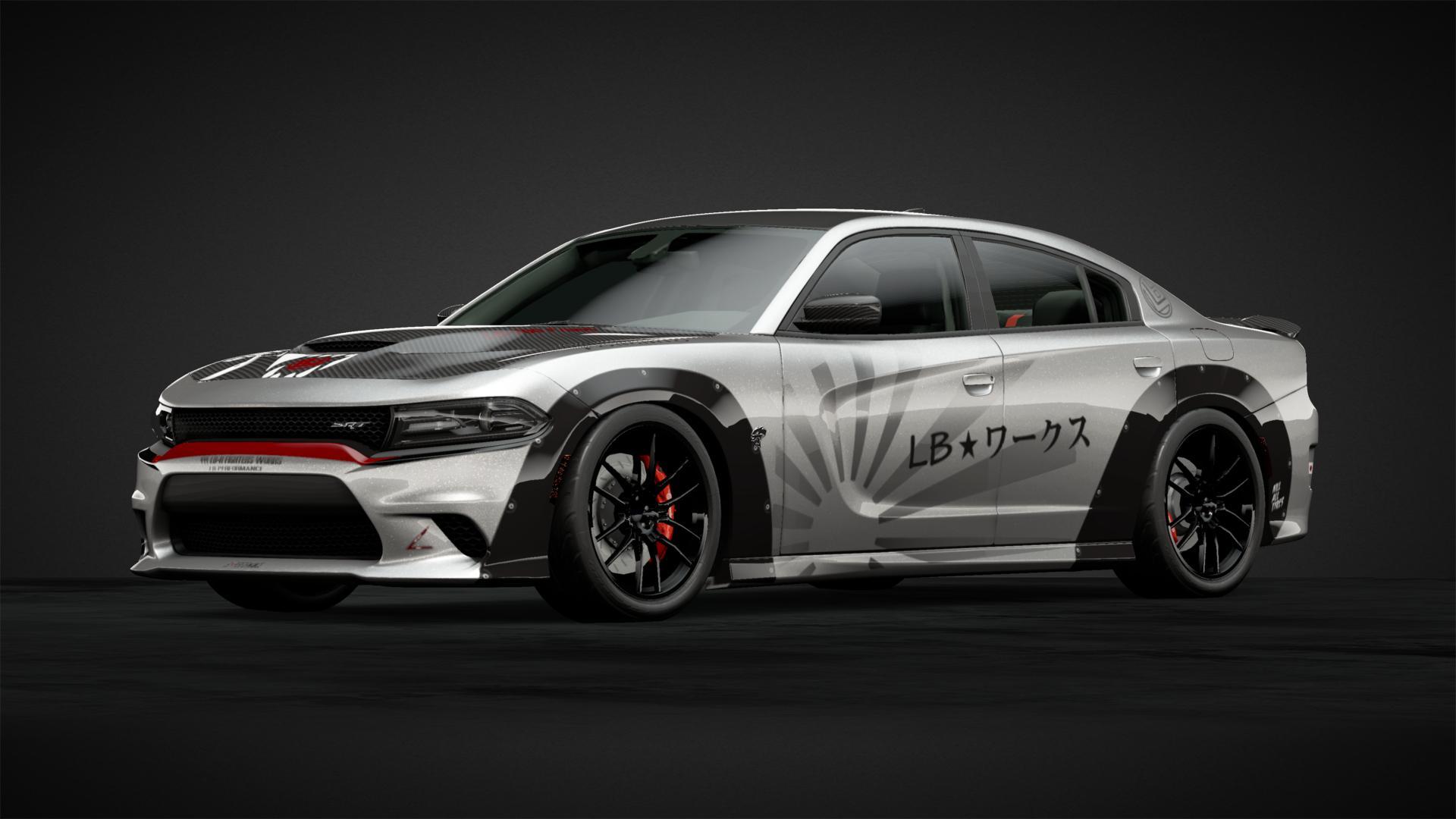 Liberty Walk Hellcat Car Livery By Cam Ber Gang23 Community Gran Turismo Sport