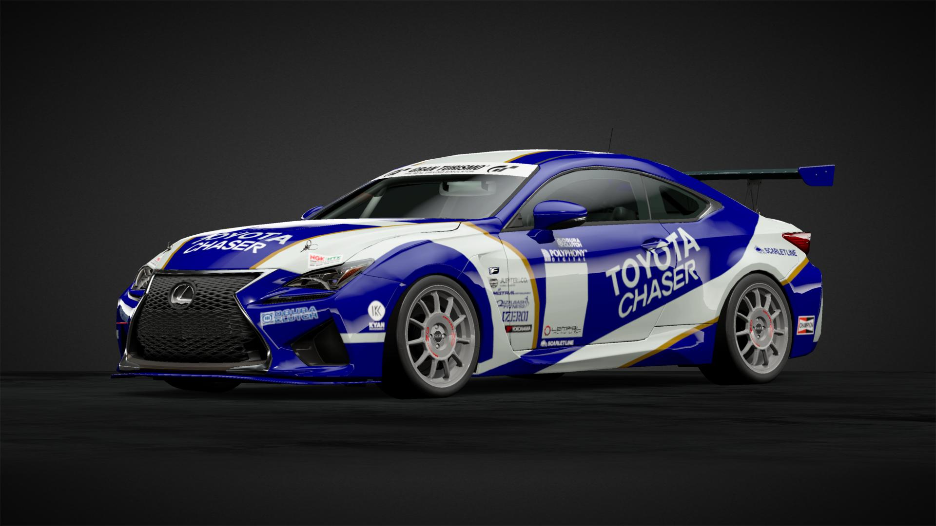 Gt1 toyota chaser race mod 2 car livery by theblackheadcrab community gran turismo sport