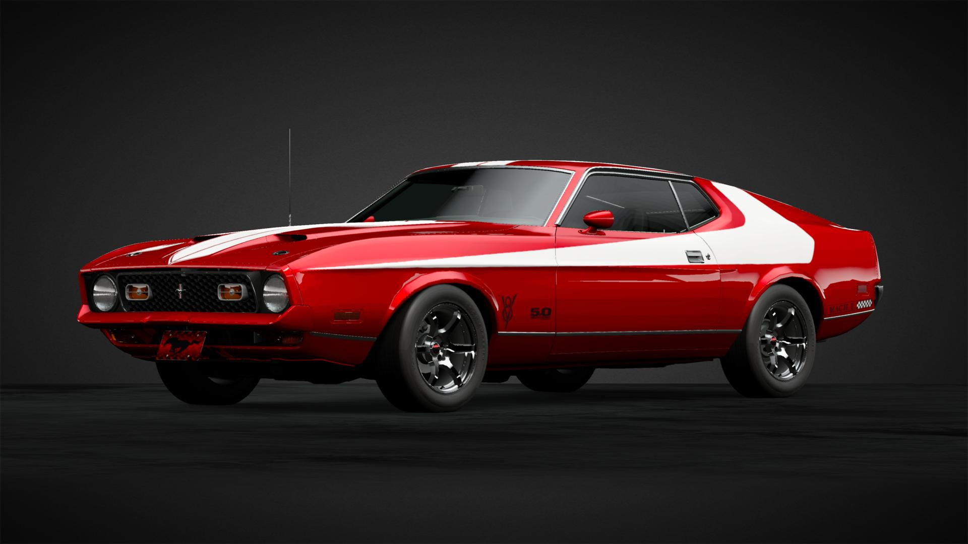 Mustang mach 1 car livery by coyote 74u community gran turismo sport