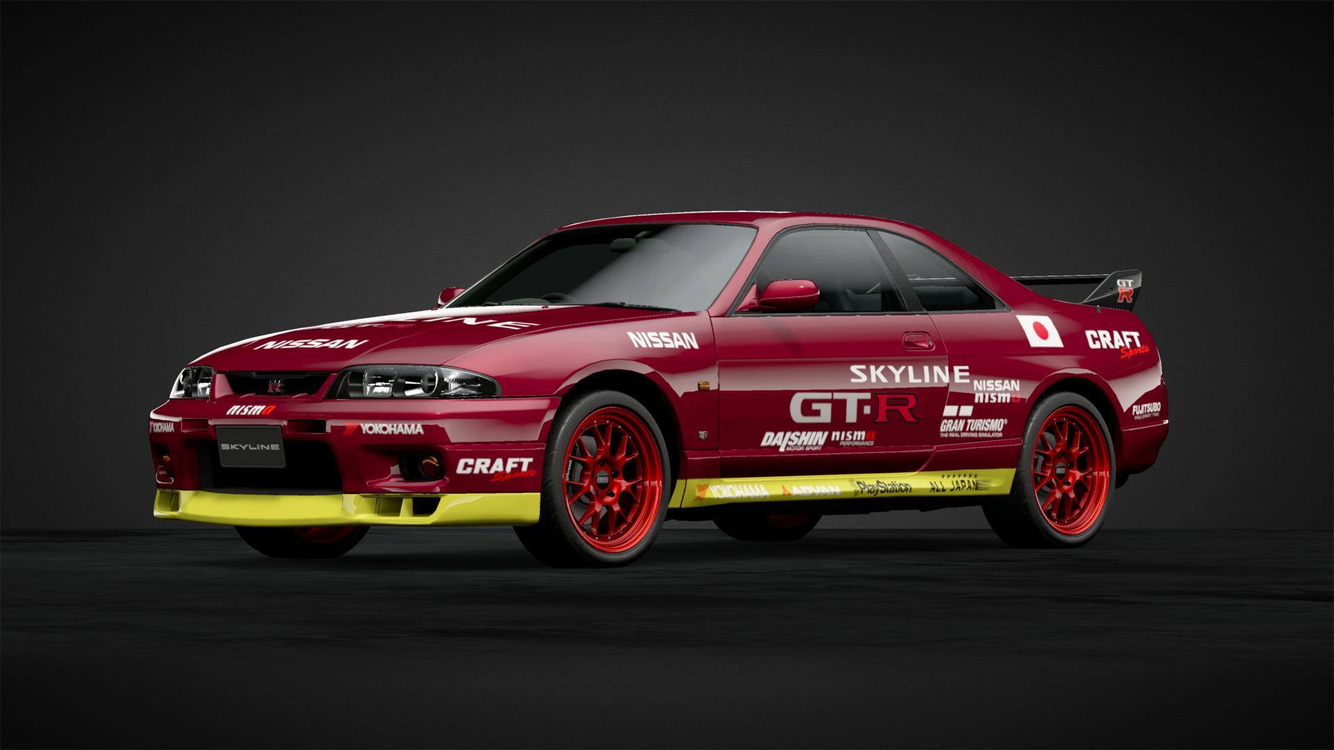 Gran Turismo 1 R33 Skyline - Car Livery by muodybp