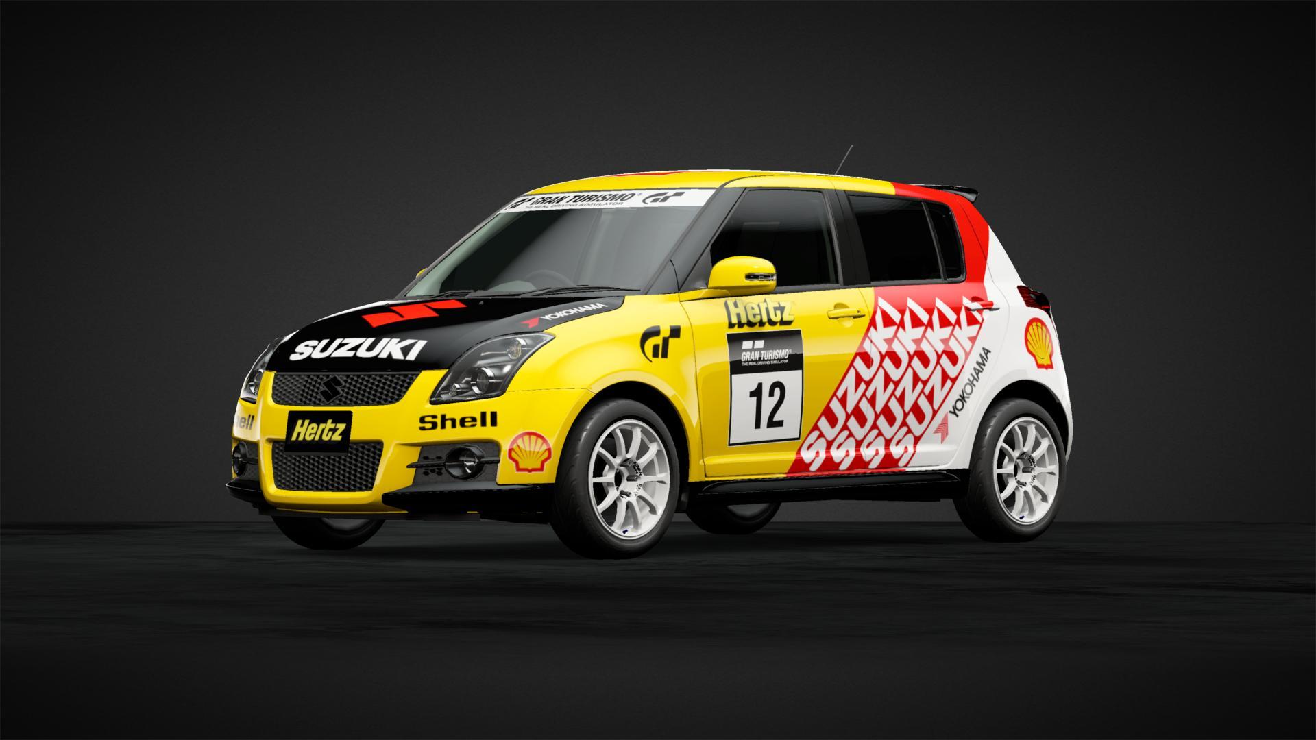 Suzuki Works Racing Swift Car Livery By Tezzamcj Community
