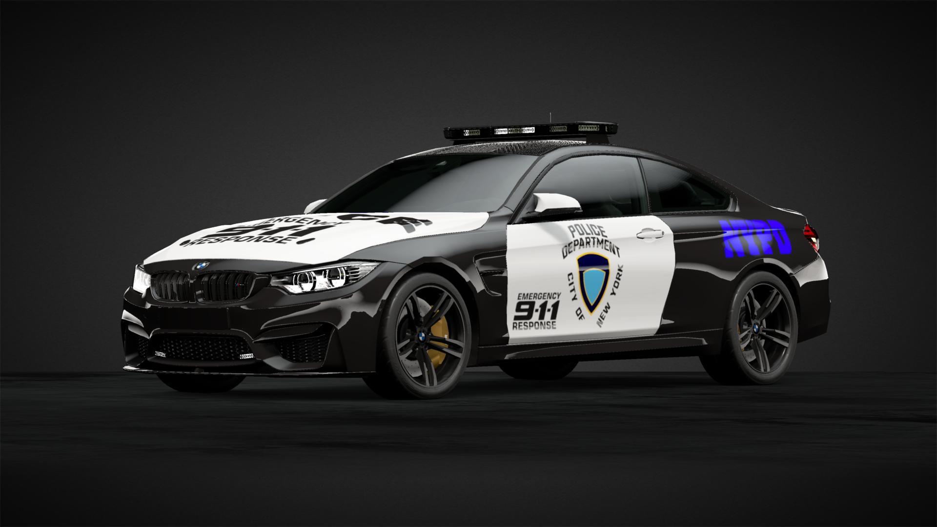 Bmw M4 Police Car