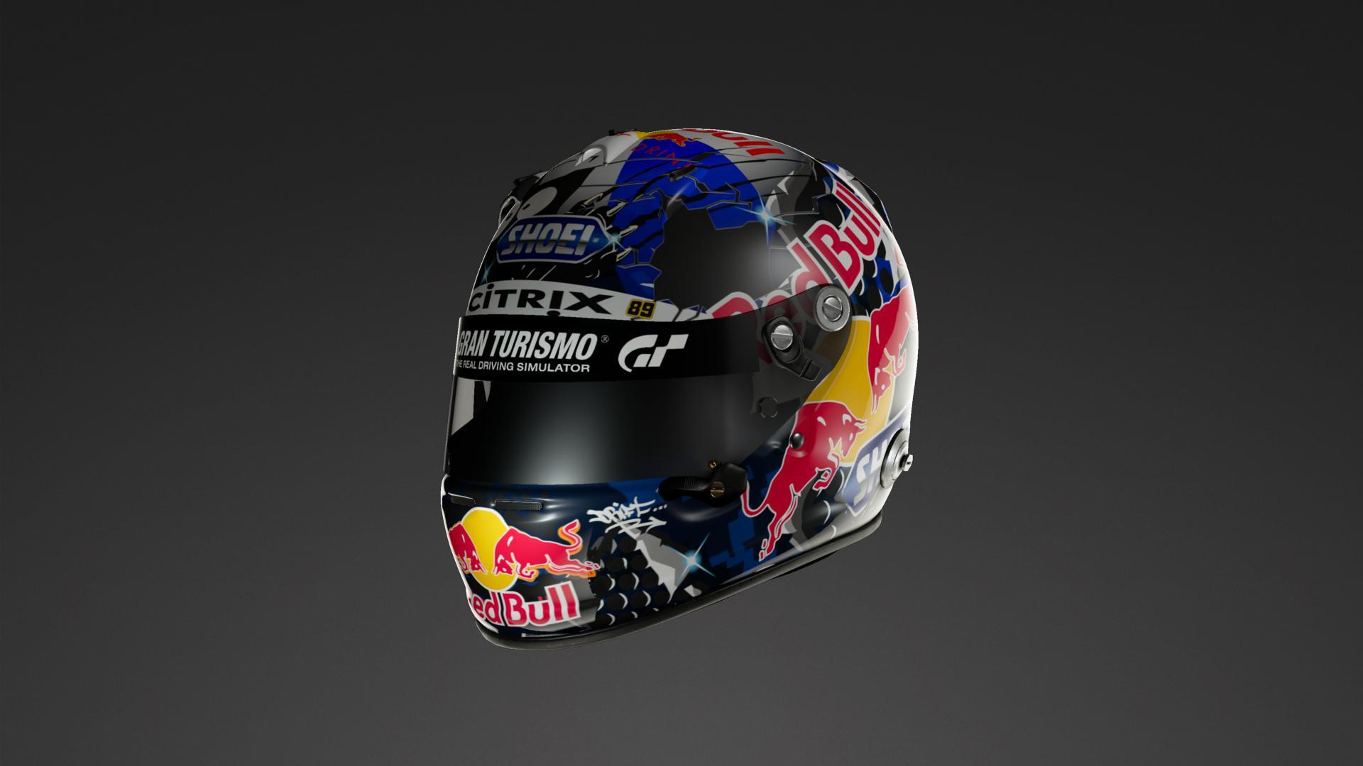 d1cf160ba Red bull helmet livery community gran turismo sport jpg 1920x1080 Bull  helmet