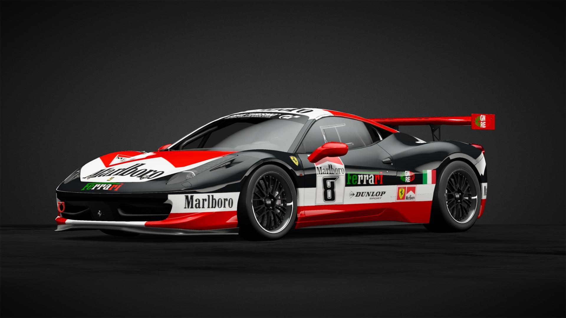 Malbro 8 Car Livery By Insert Coin 08 Community Gran
