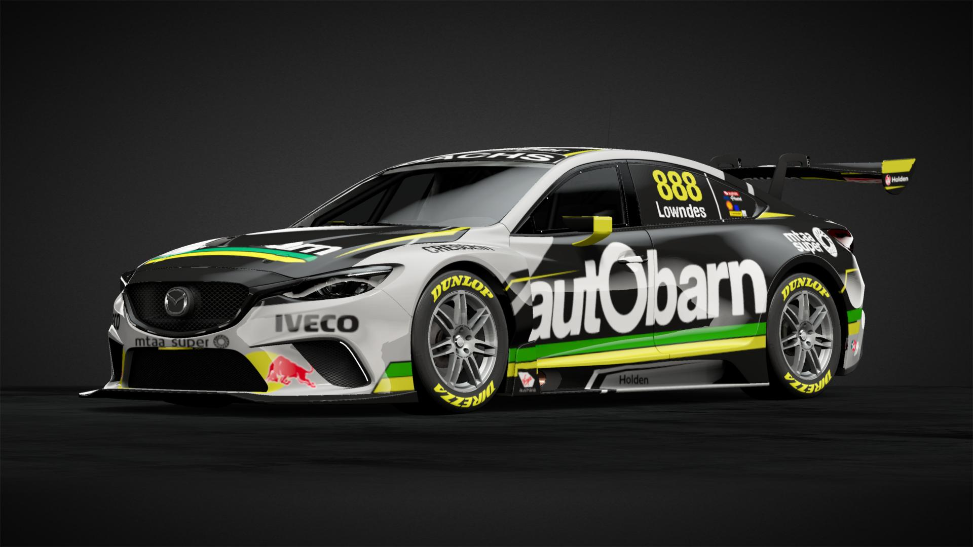 6662535 car livery autobarn lowndes racing 2018