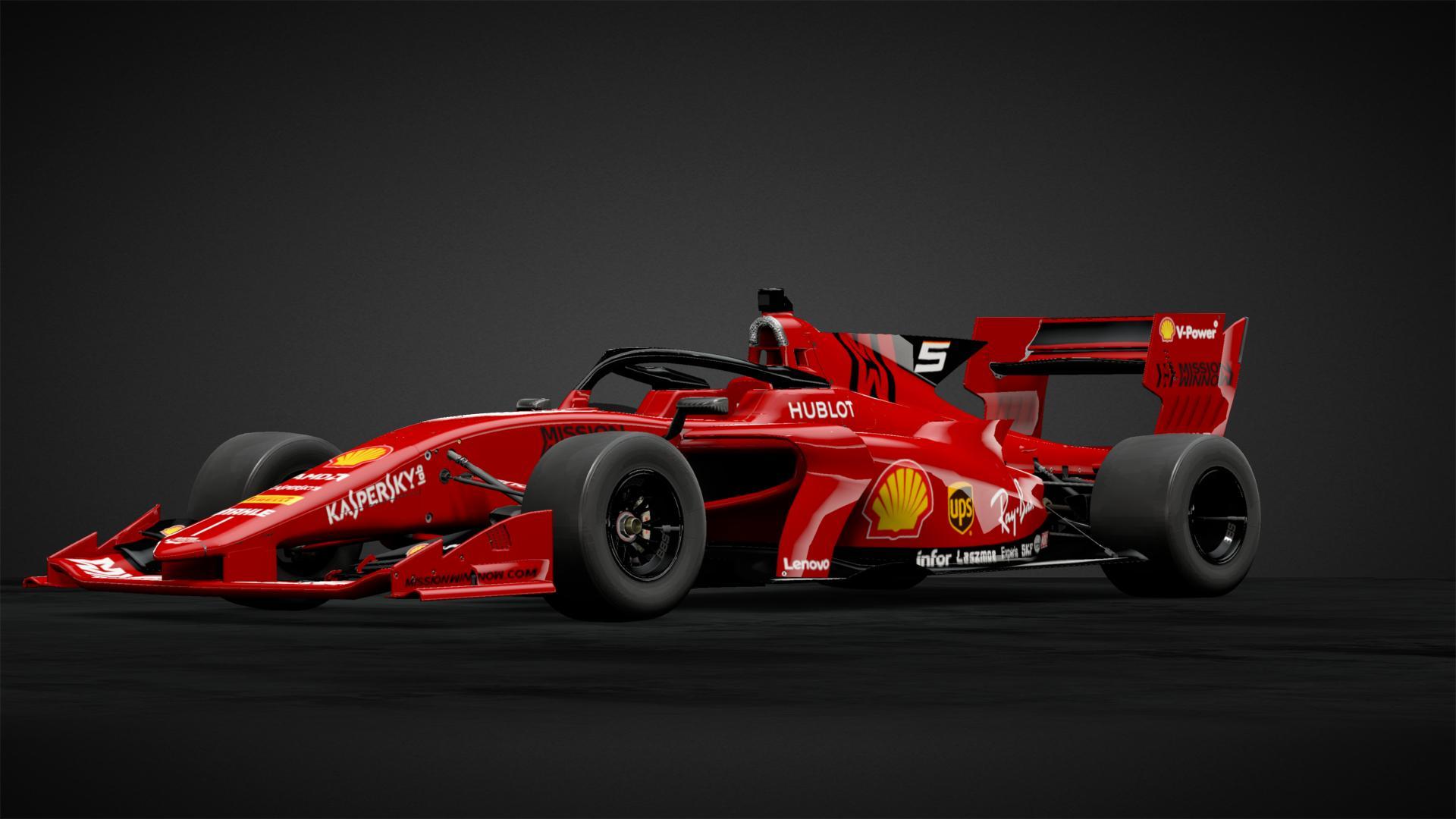 Ferrari F1 2020 Concept Livery - Cars Trend Today