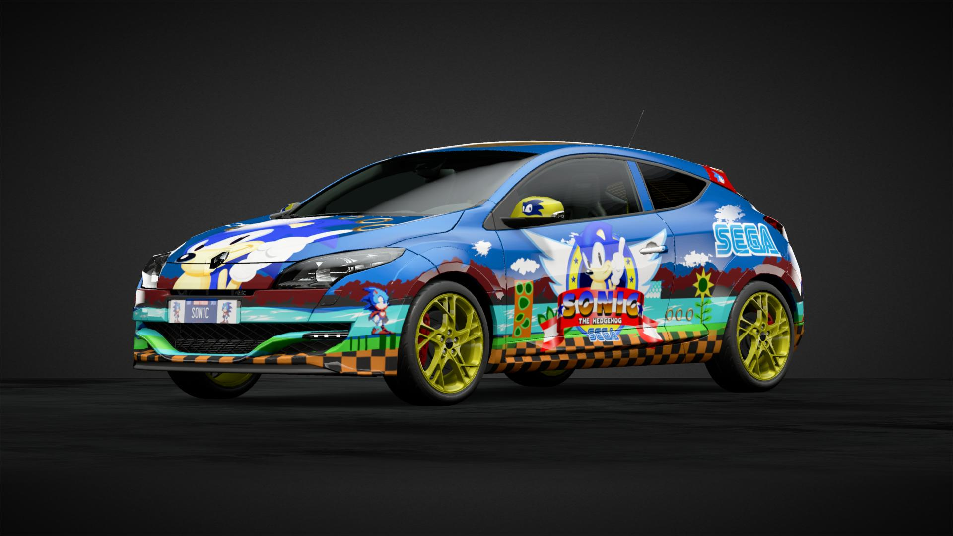 Sonic The Hedgehog Car Livery By Iron Matty Community Gran Turismo Sport
