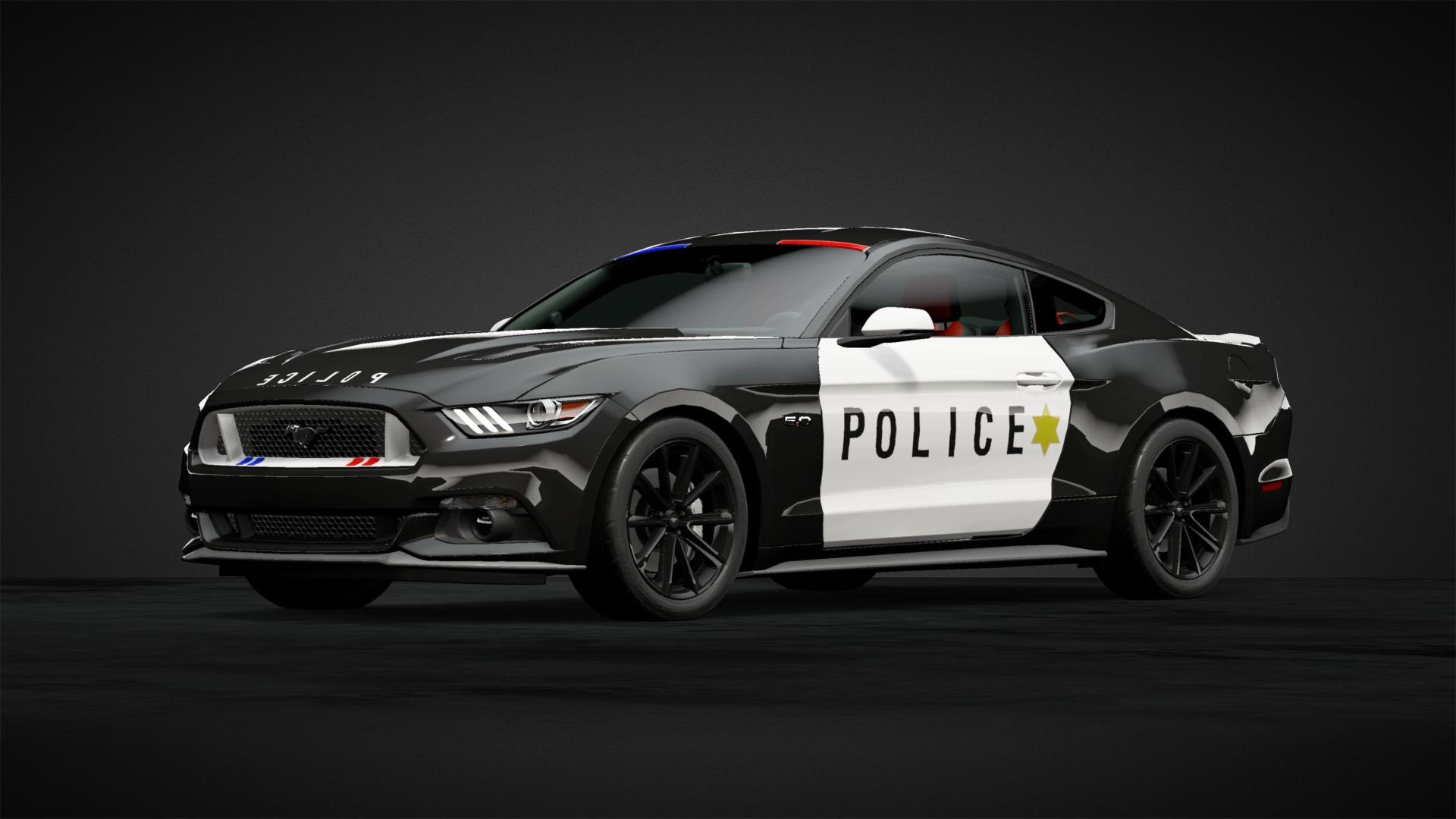 Police Ford Mustang Gt Car Livery By Fplus Community Gran Turismo Sport