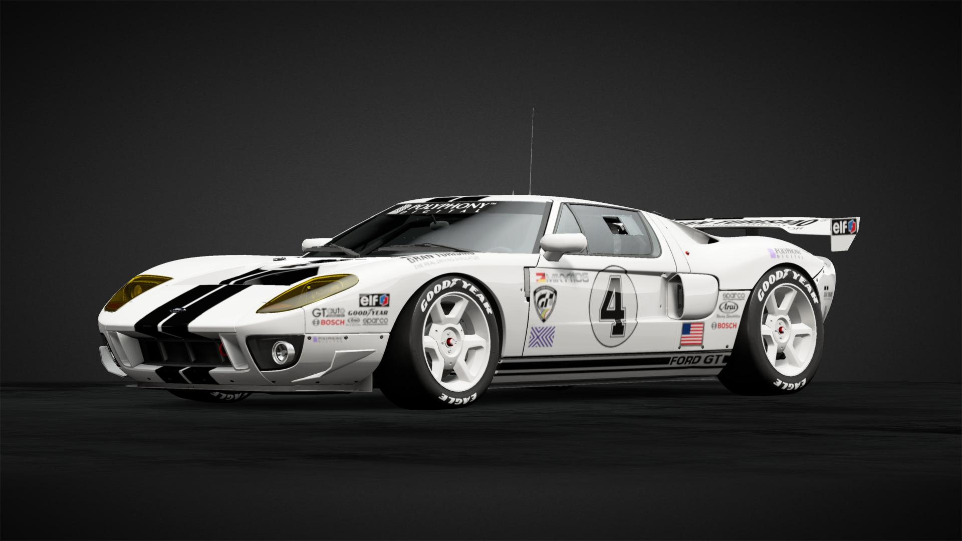 Ford GT LM Spec  II Gr 3 #4 - Car Livery by Miky1106