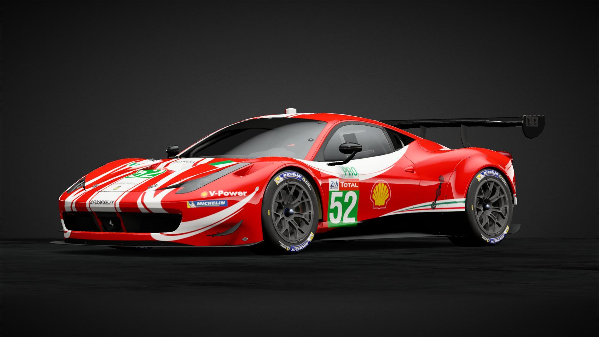 Ferrari 488 Gte Evo Af Corse 52 Car Livery By Speedchaserracin Community Gran Turismo Sport