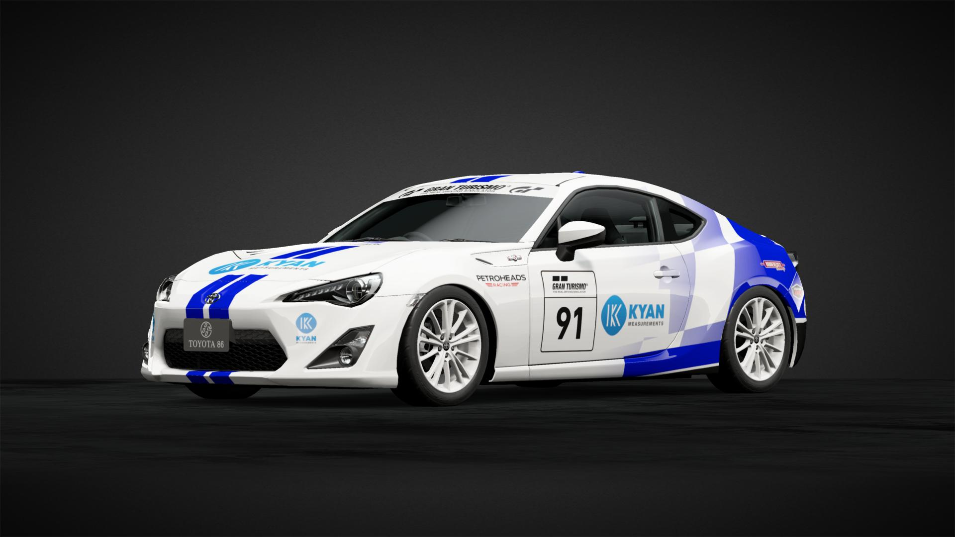 91 Toyota 86 Campaign Car Livery By Super Miki 2 Community