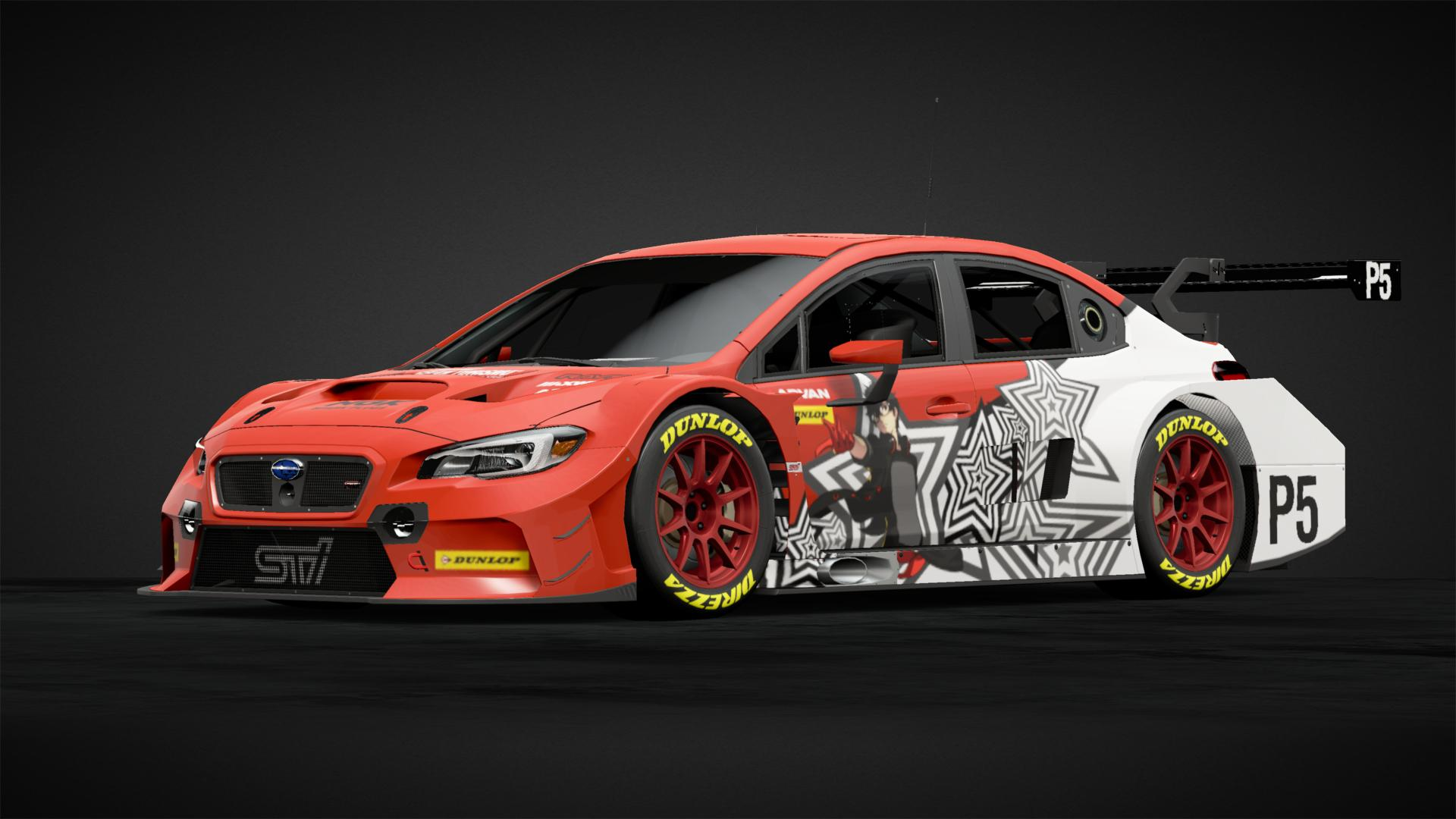 Persona 5 Sti Car Livery By Volumeup98 Community Gran Turismo