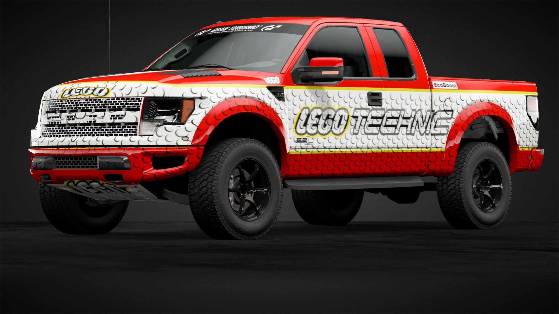 Lego Technic Ford Raptor Car Livery By Boerkejr Community Gran