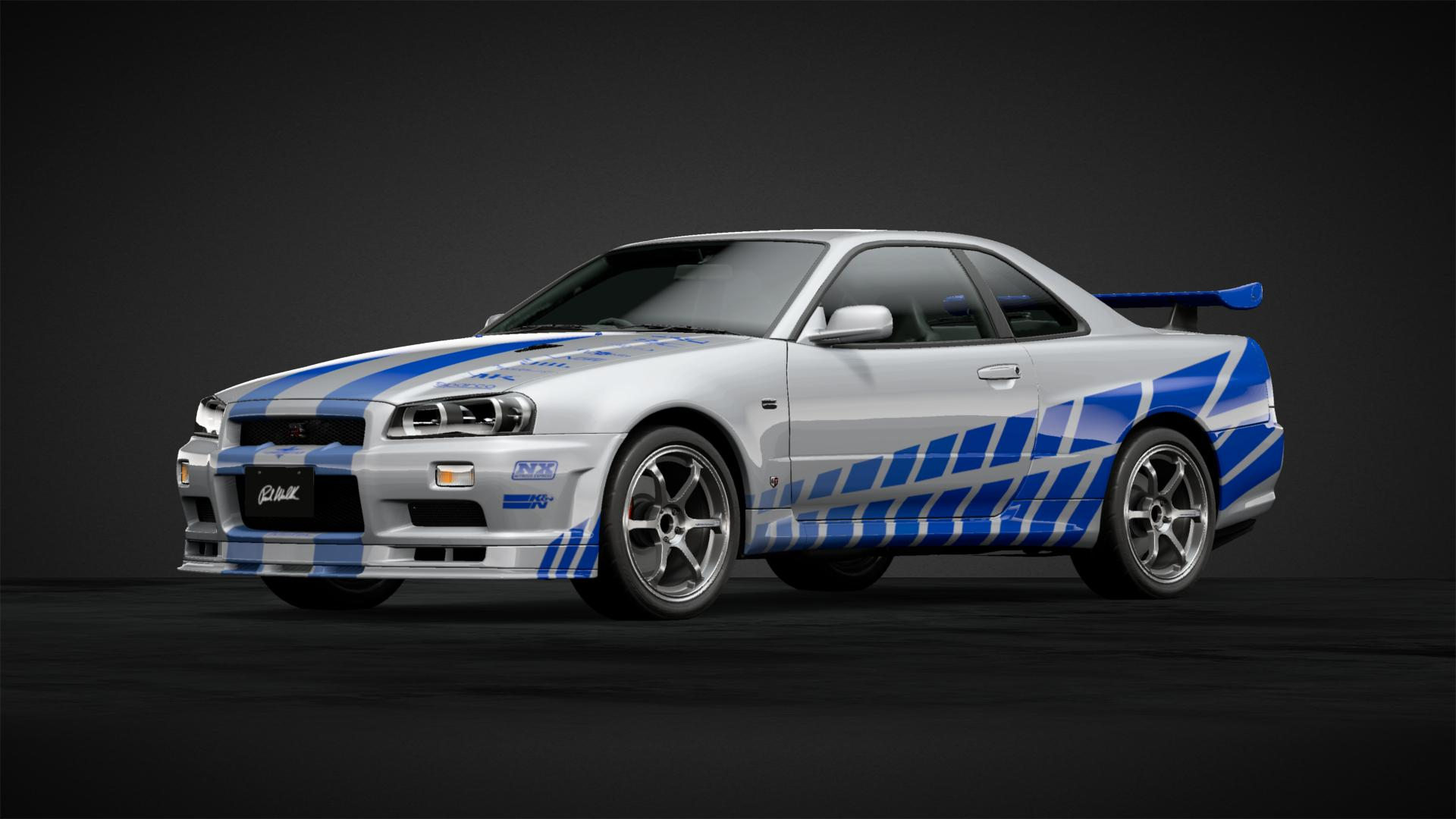 2 Fast 2 Furious Skyline - Car Livery by Luke_C_93