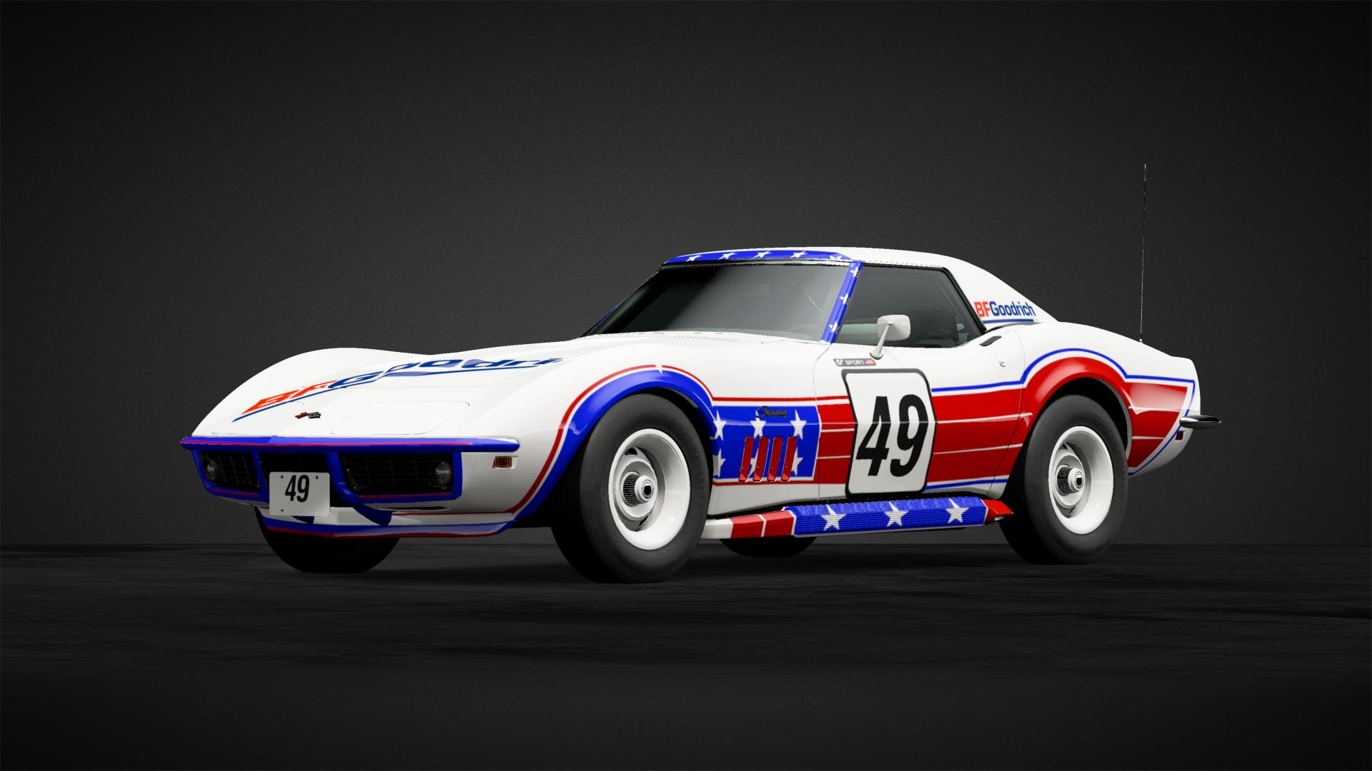 Stingray Racecar Car Livery By Boerkejr Community Gran Turismo