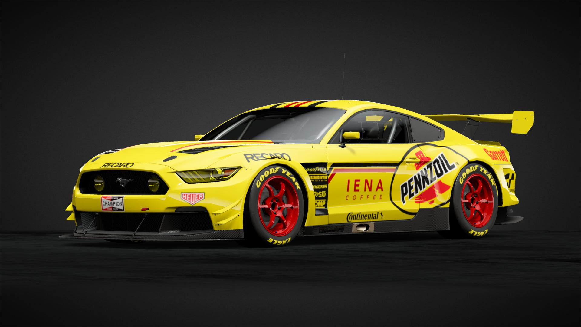Ford Mustang Pennzoil