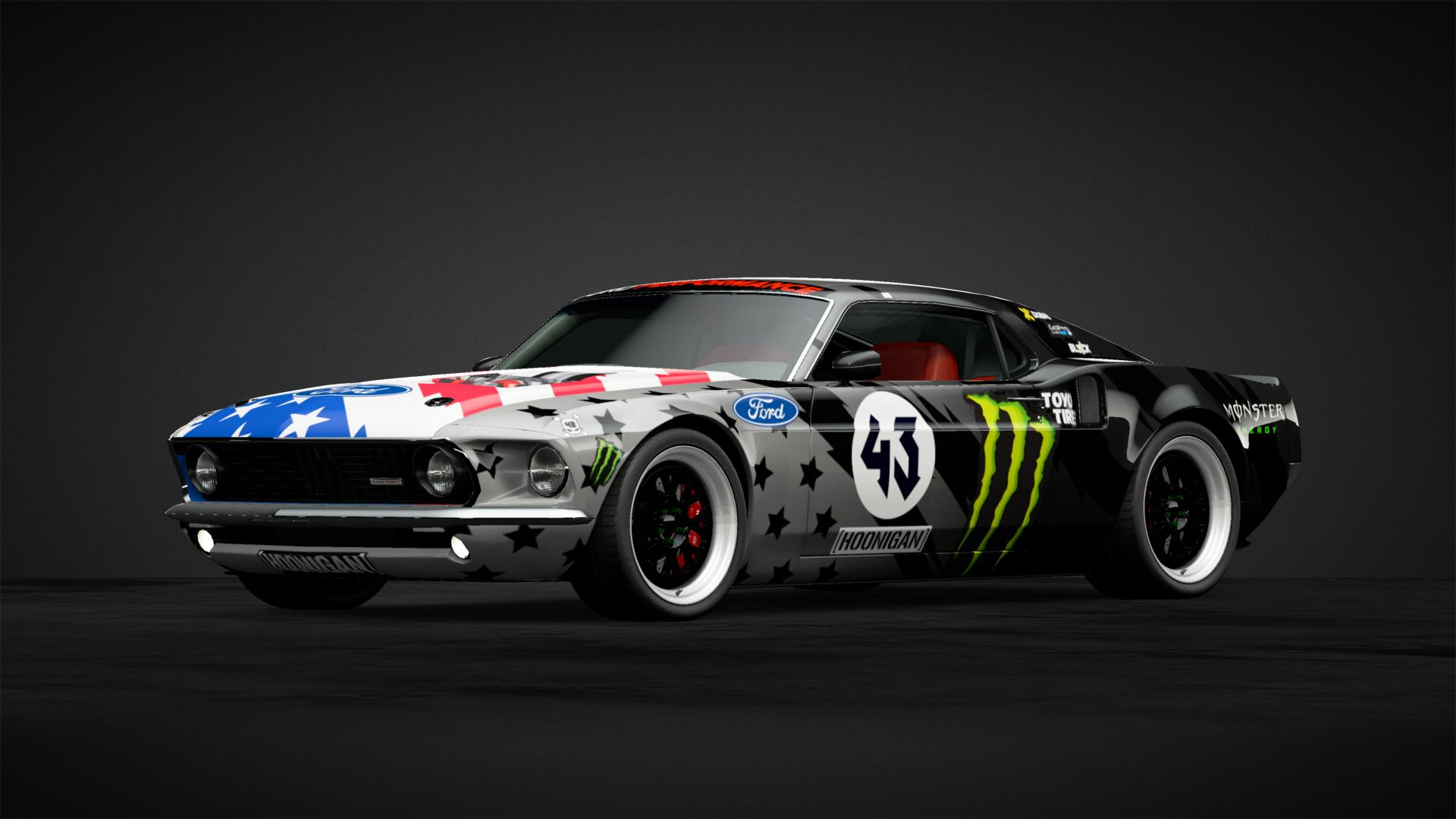 Ken Block Mustang Hoonicorn V1 - Car Livery by byZEBY