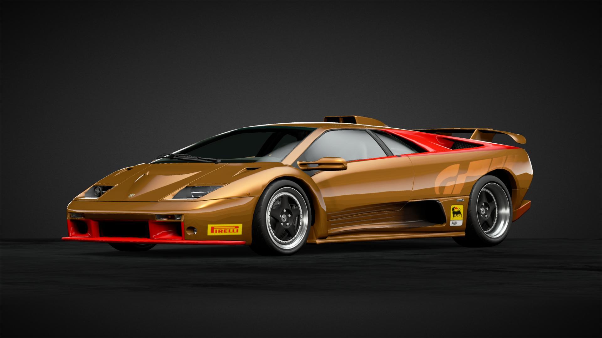 Golden Lambo Car Livery By Spyder 907 Community Gran Turismo Sport
