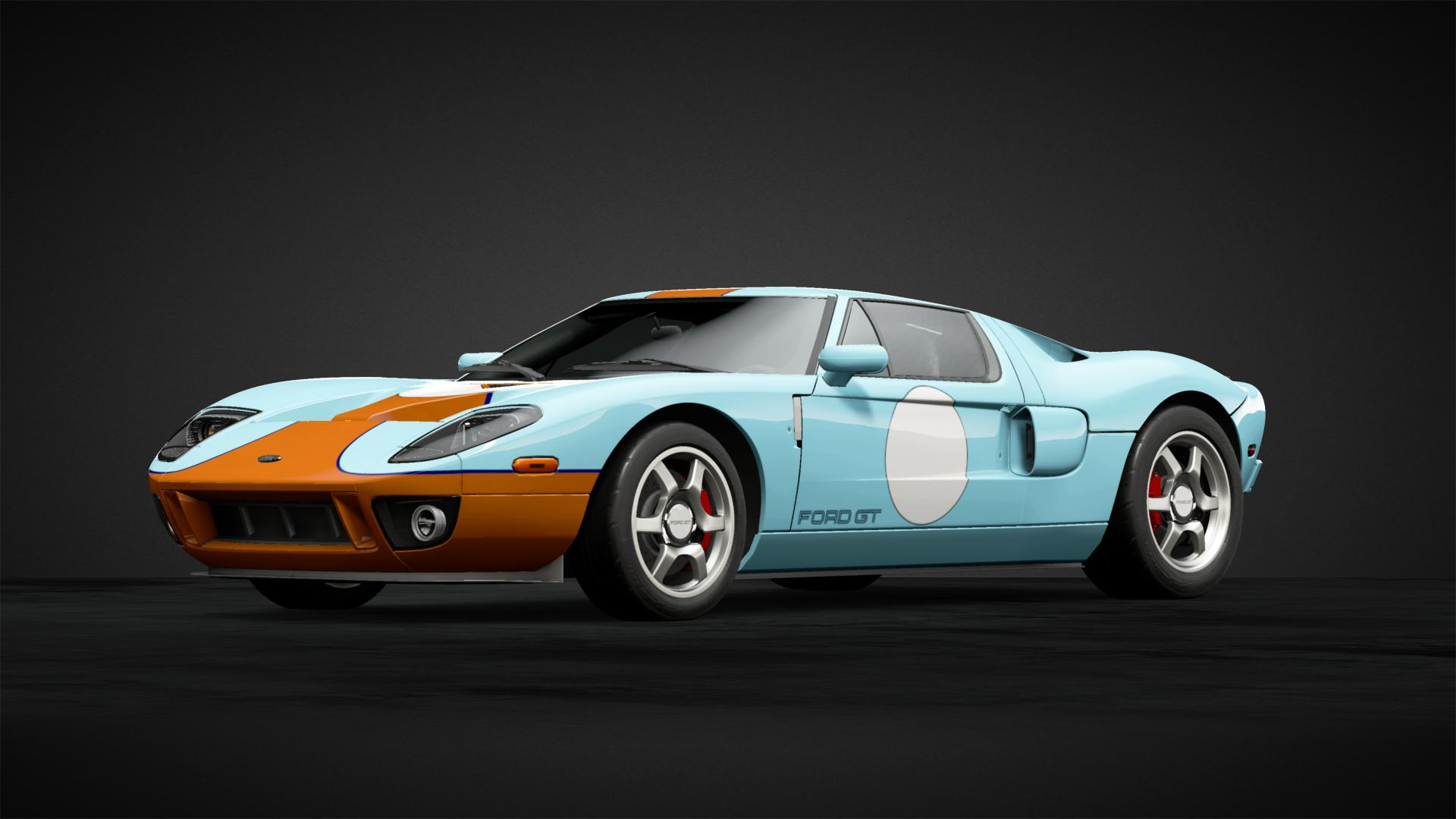 Gulf Ford Gt Heritage Car Livery By Mercedes Benzclk Community Gran Turismo Sport