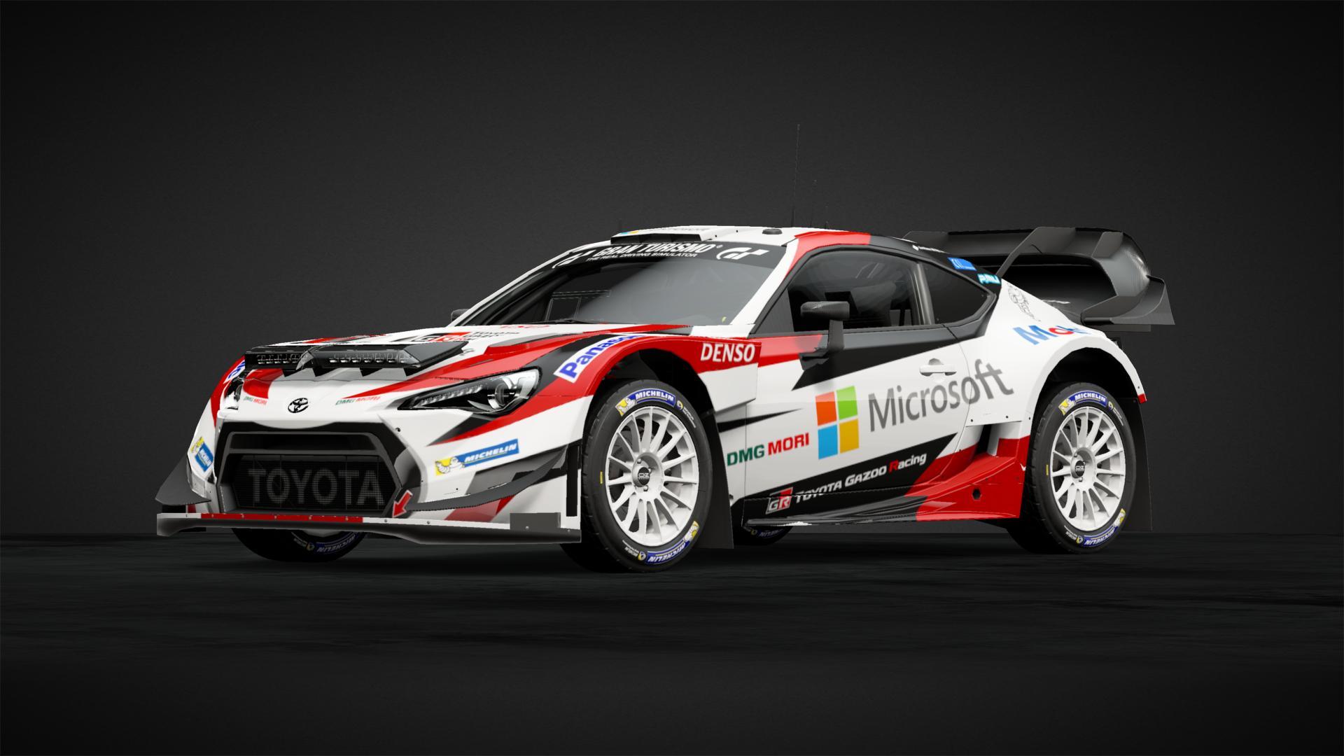 TOYOTA WRC 86 B - Car Livery by Oscar-Kei | Community | Gran Turismo ...