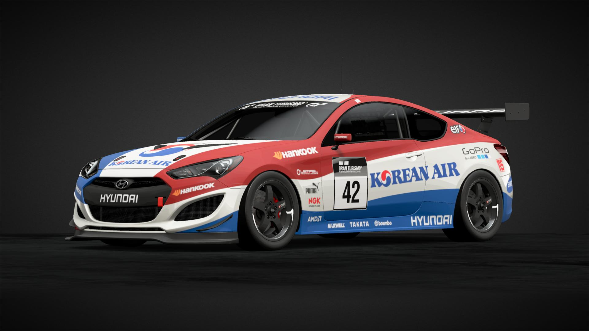 Korean Air Hyundai Car Livery By Thenoisygiraffe Community