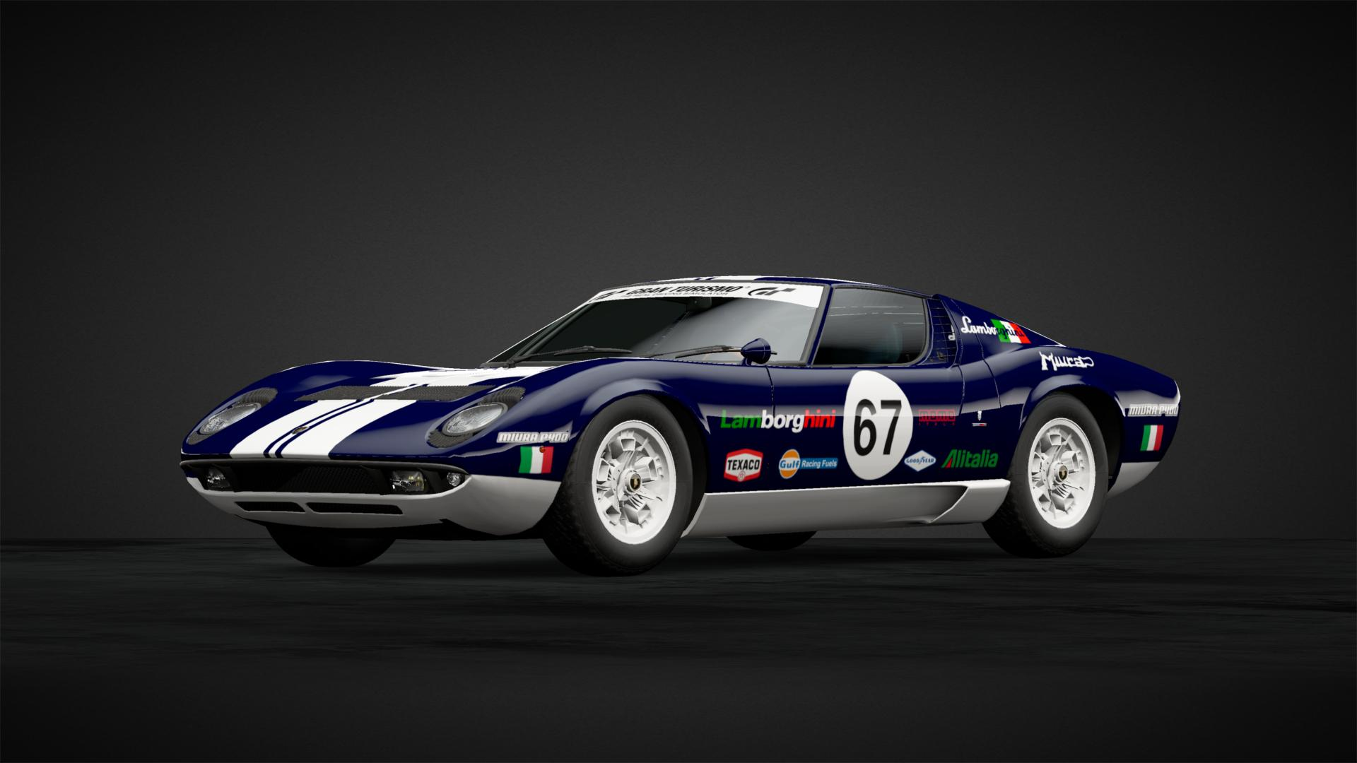 Lamborghini Miura P400 Race Car Car Livery By Scottjr123