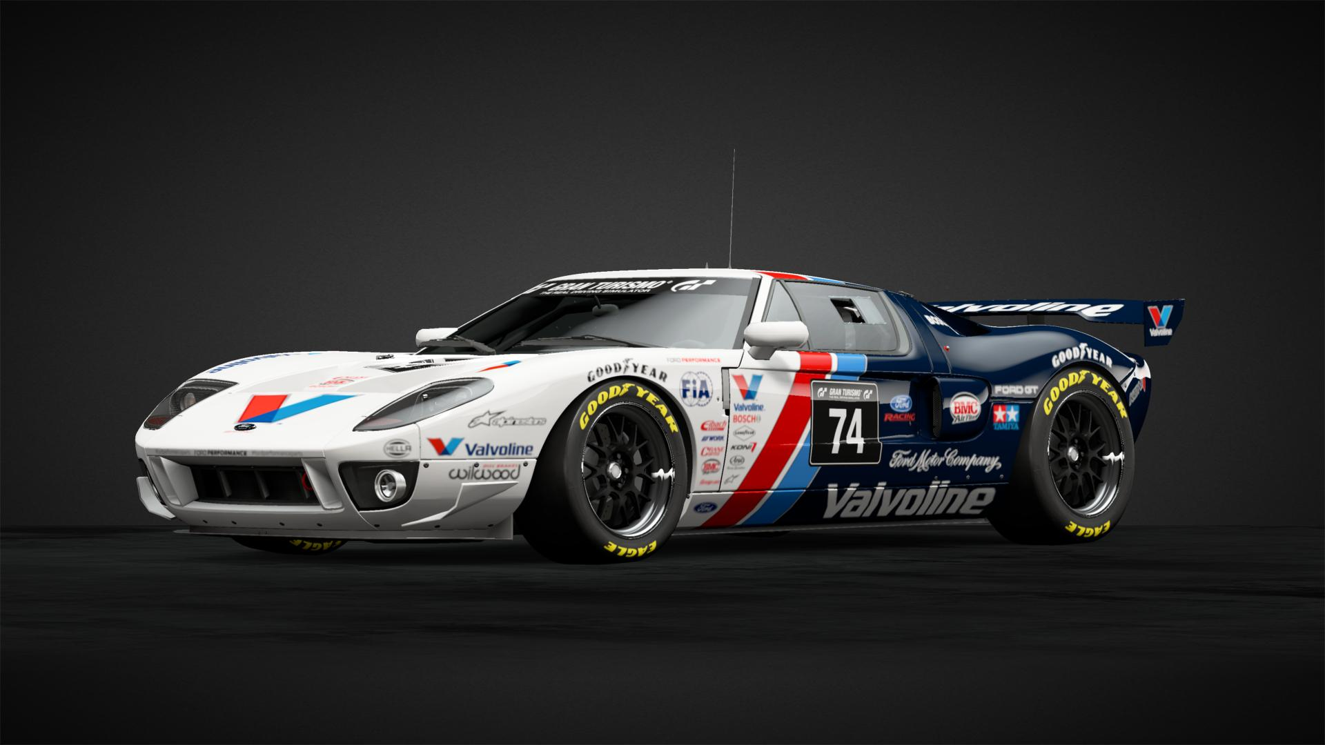 Valvoline Ford GT Car Livery by ARC 74 munity