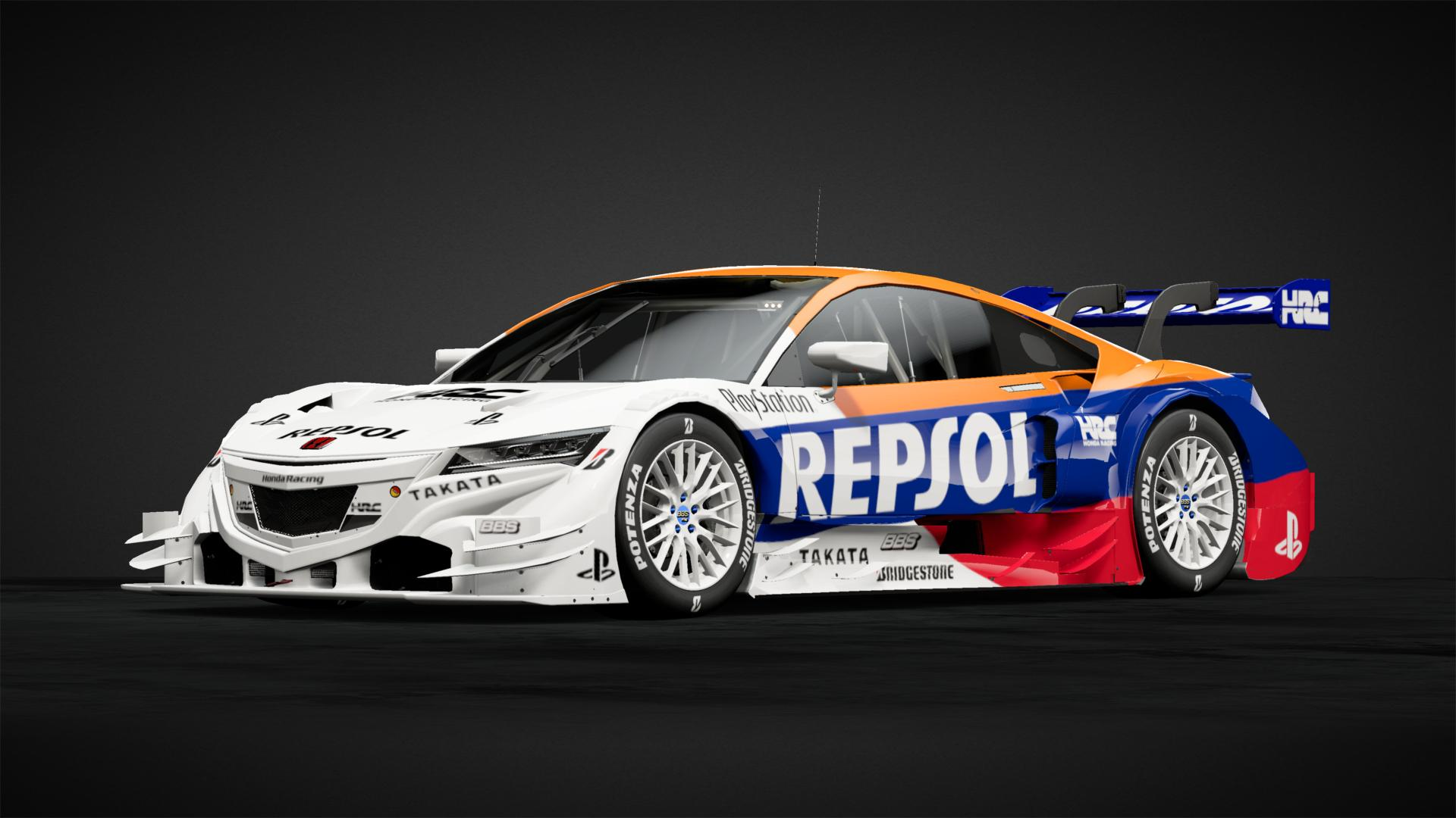 Repsol Hrc Nsx Concept Gt Gr2 Car Livery By Giveyouwings Community Gran Turismo Sport