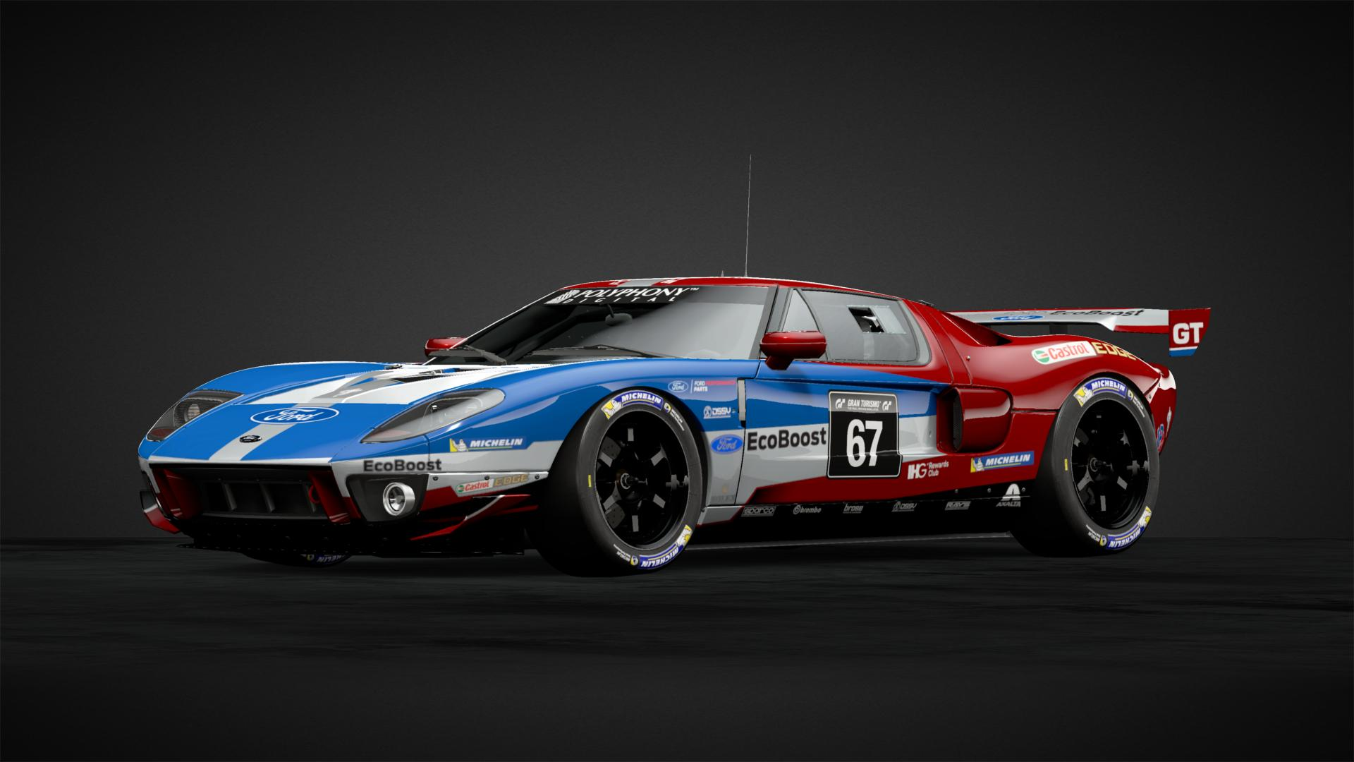 Ecoboost Ford Gt Gt Car Livery By Azabear Community Gran Turismo Sport