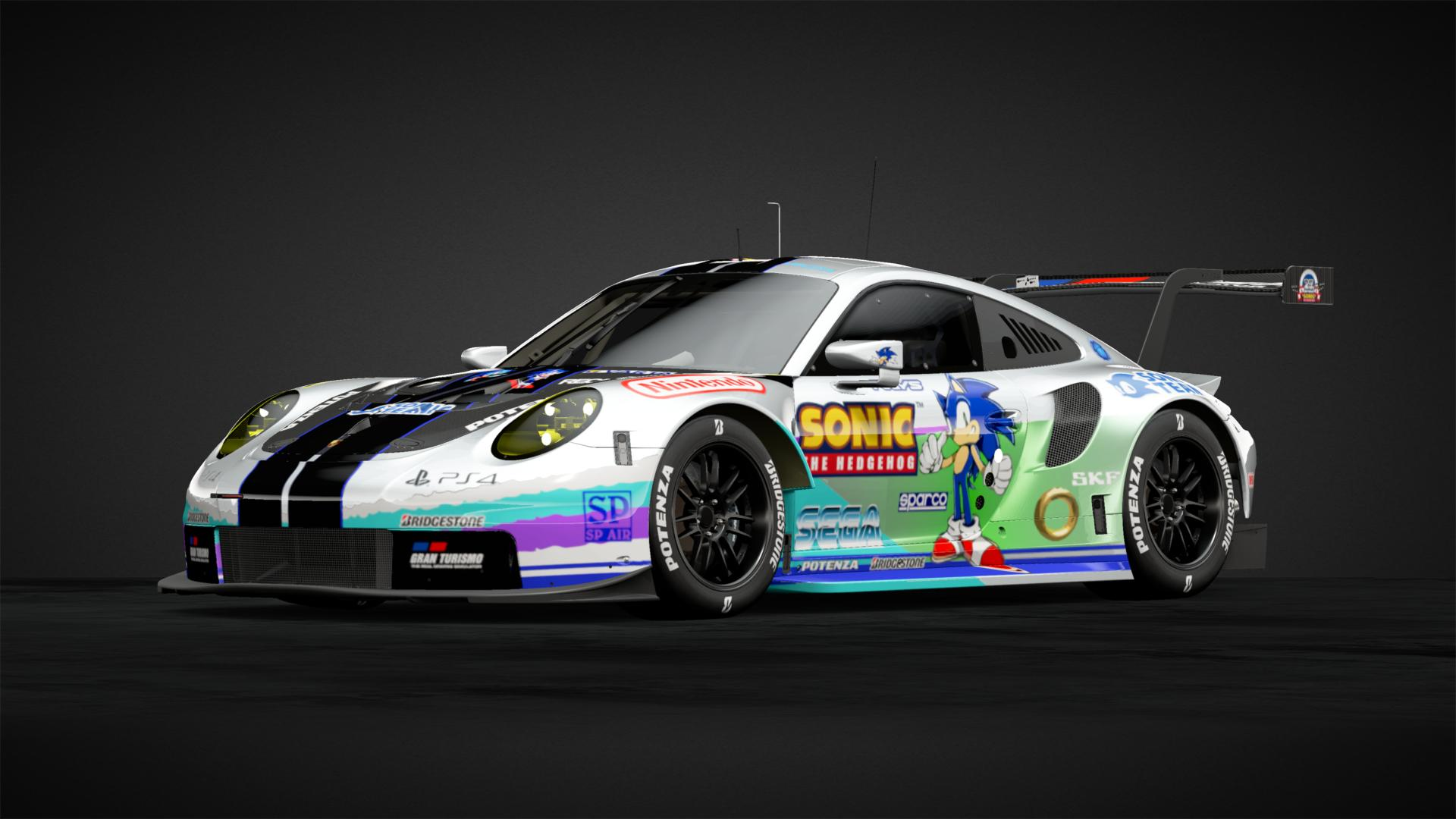 Sonic Car Livery By Seraphim 20 Community Gran Turismo Sport