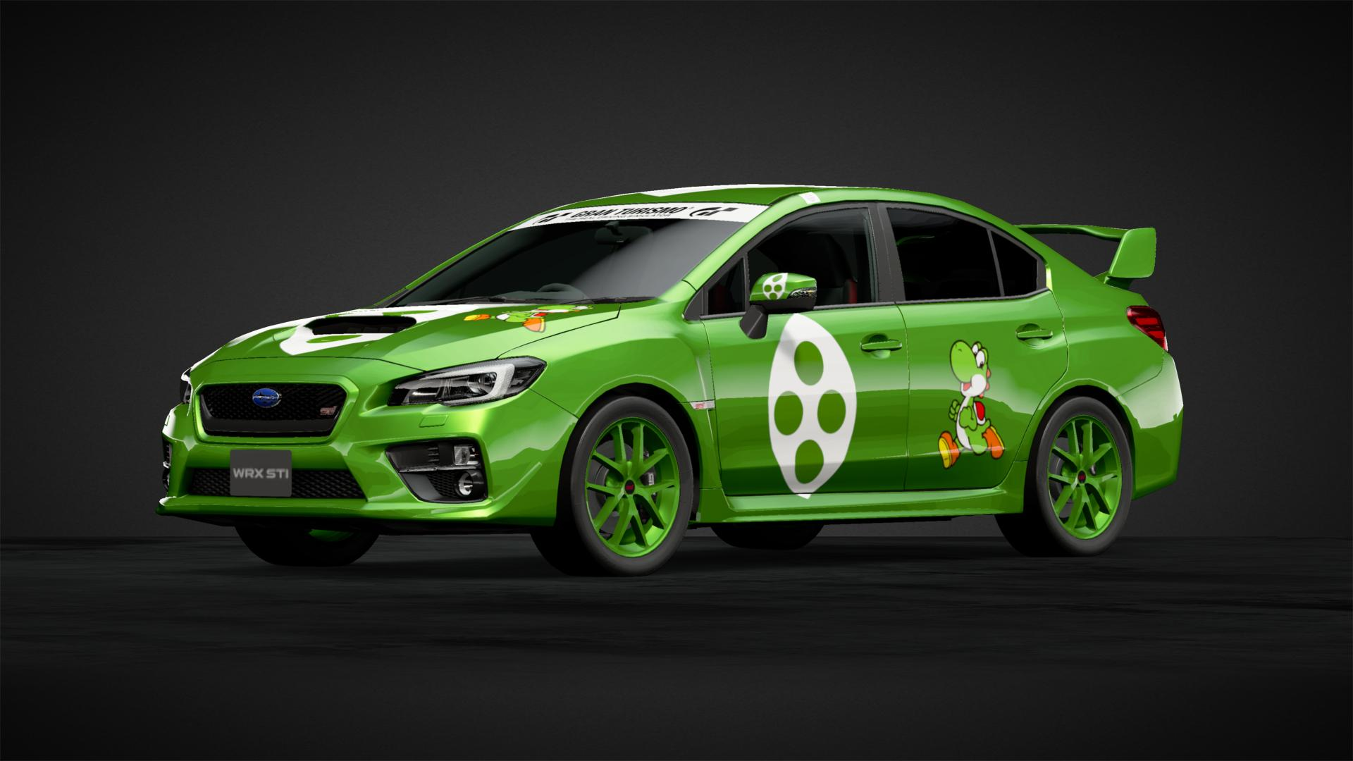 WRX STI Yoshi Edition Car Livery By Scottr 93